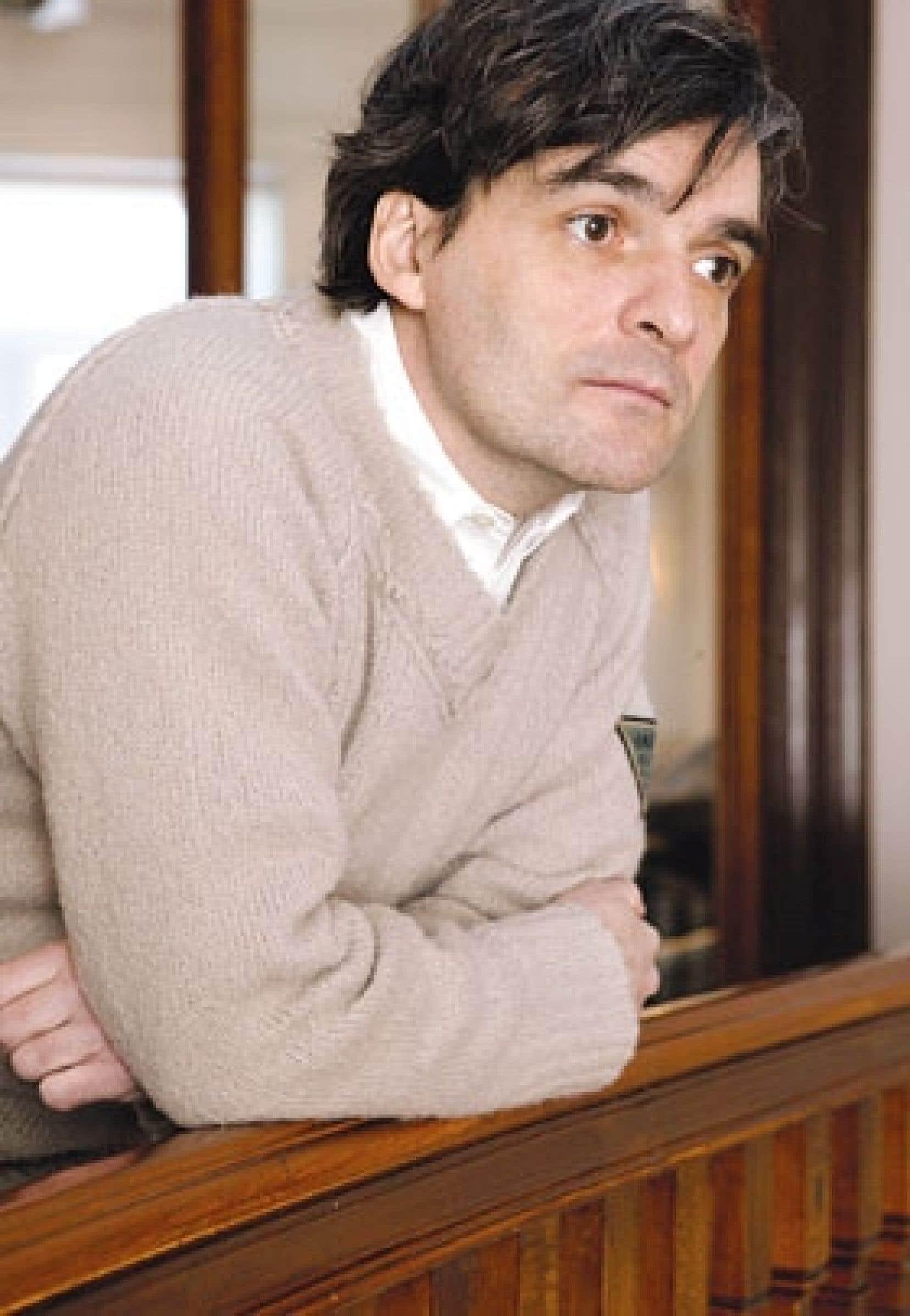 Serge Boucher a fait d'un restaurant familial le personnage principal de sa sixième pièce, Là.