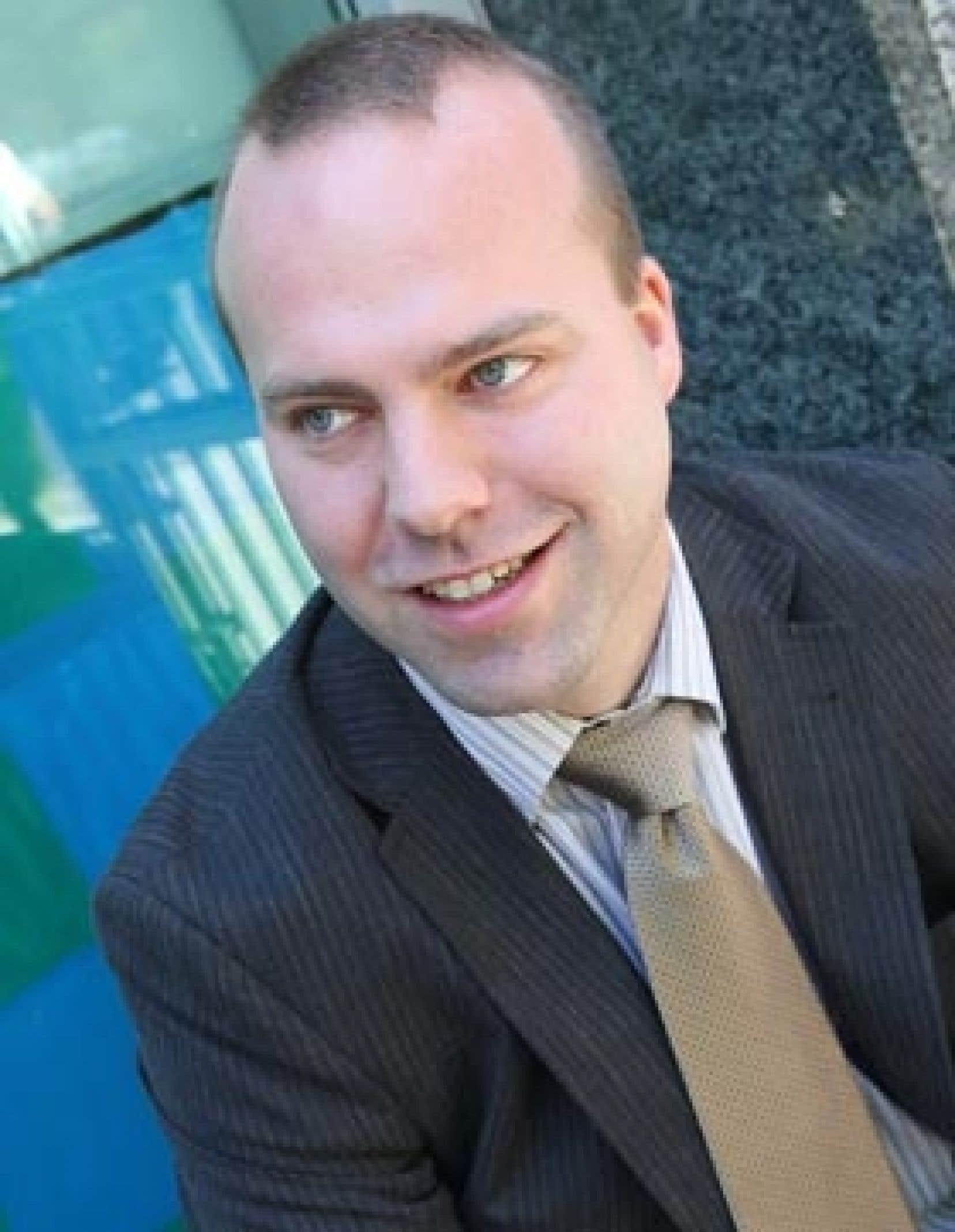 Patrick Grégoire l'un des deux fondateurs et vice-président de Boréalis. La société est pourtant peu connue au Québec, puisque 95 % de ses activités ont lieu à l'étranger, dont 60 % en Afrique.