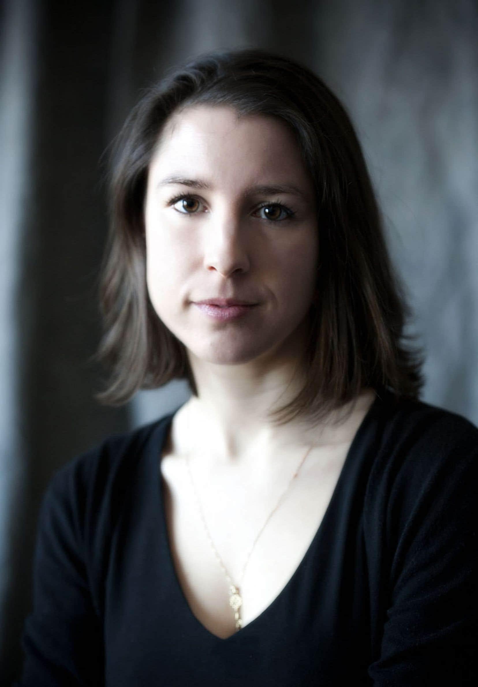 Perrine Leblanc, auteure de Malabourg