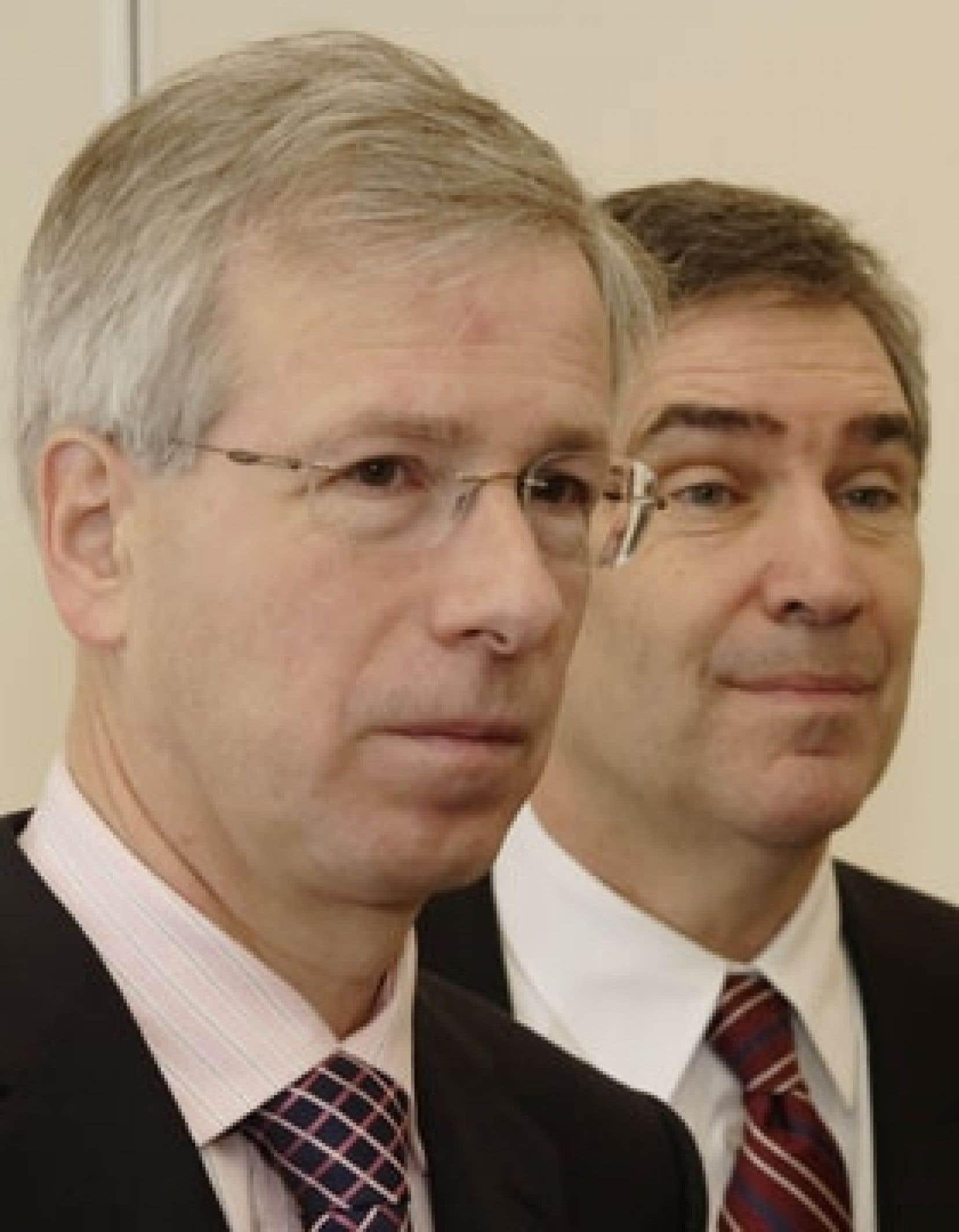 Stéphane Dion a fait de Michael Ignatieff son bras droit en le nommant leader adjoint.