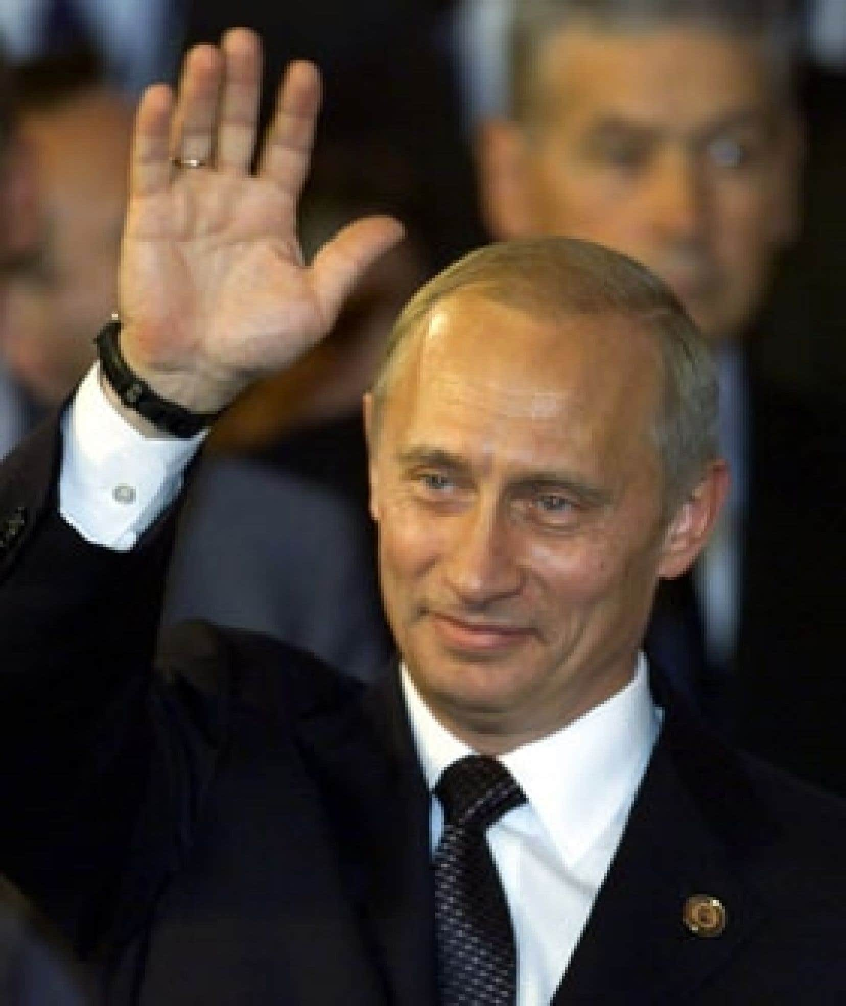 Vladimir Poutine, ex-chef du FSB