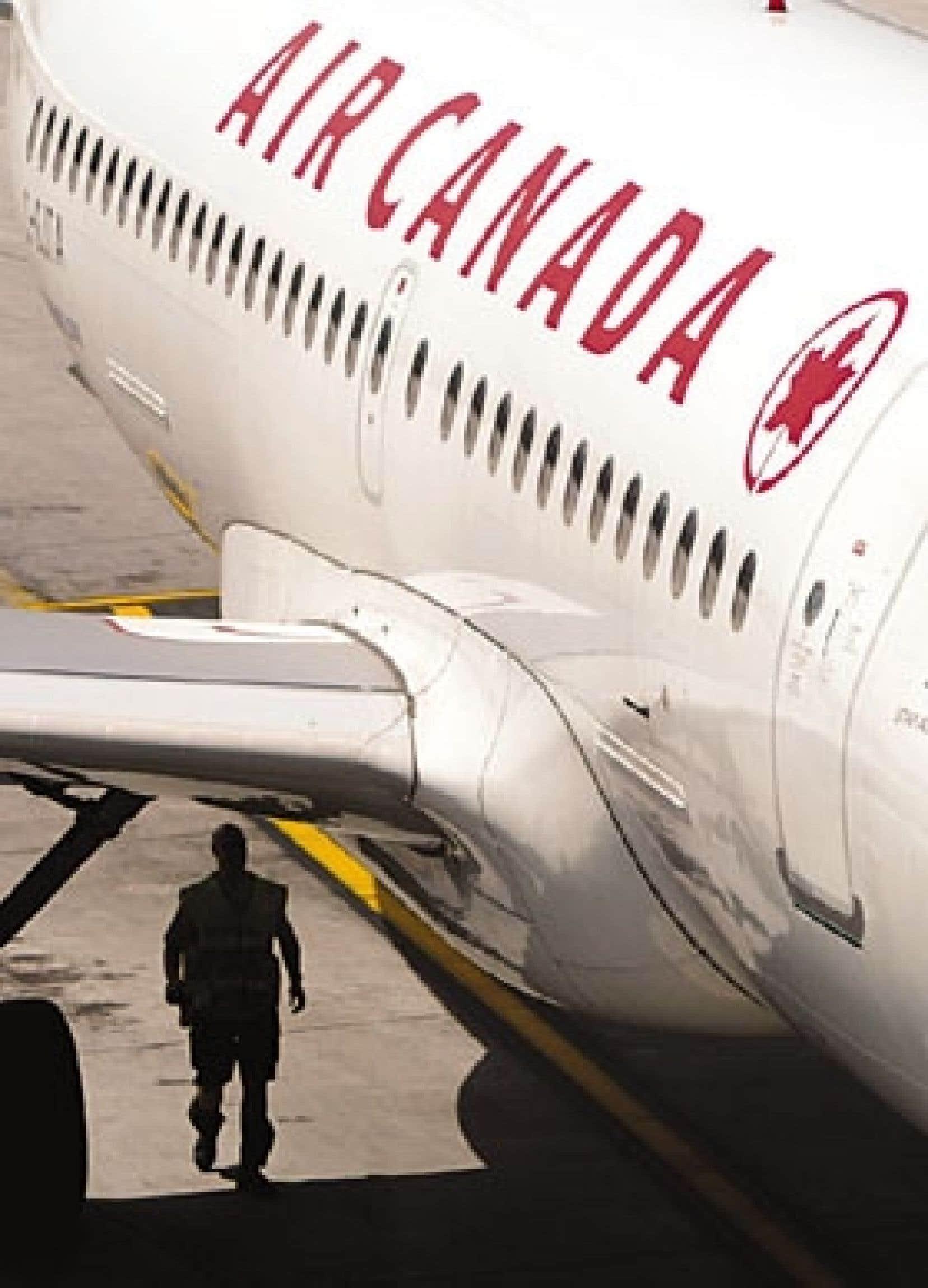 À son retour en Bourse, l'action d'Air Canada a été accueillie avec un recul de 6 %.