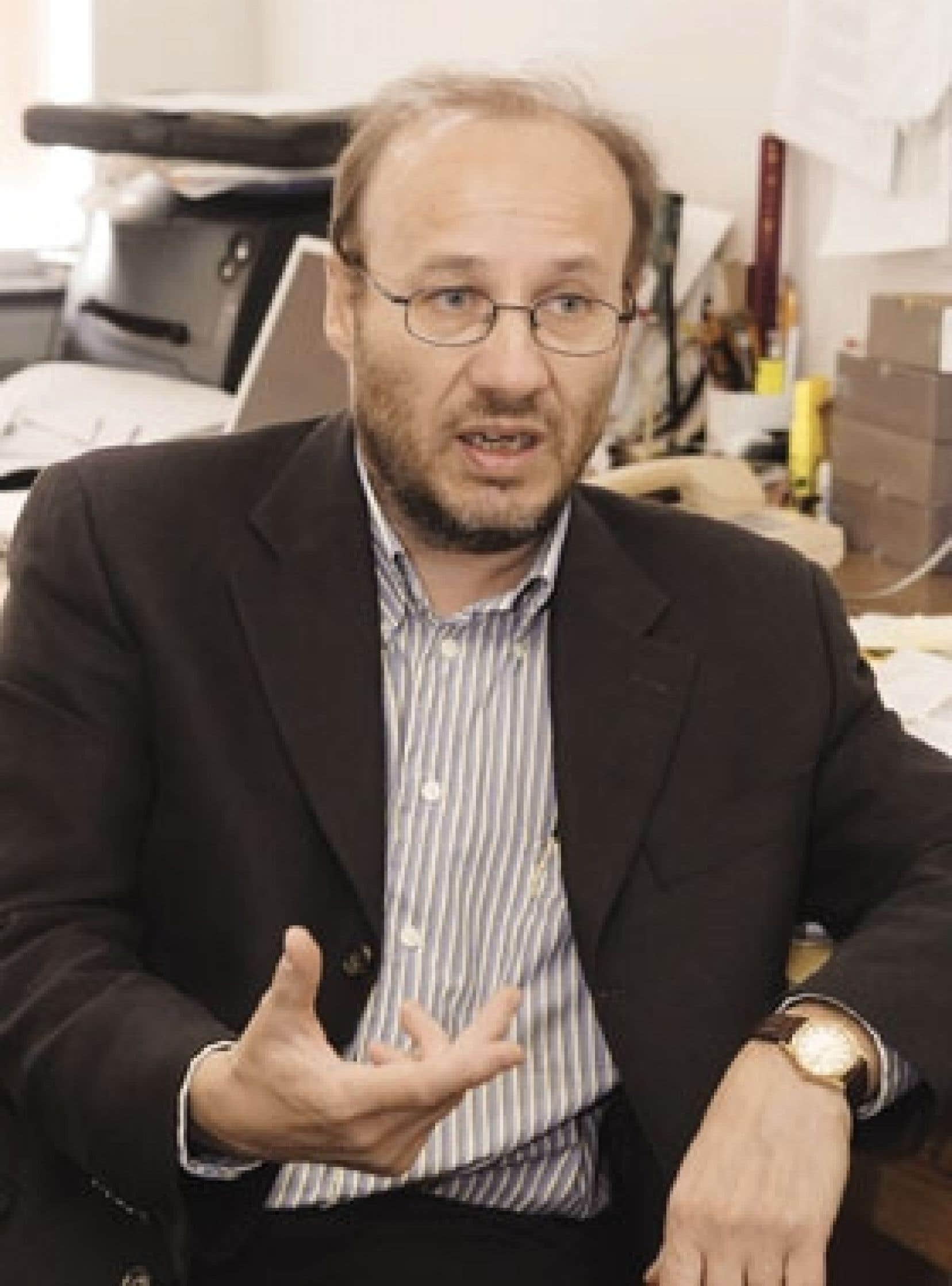L'historien «postnationaliste» Jocelyn Létourneau, dans son bureau de l'Université Laval.