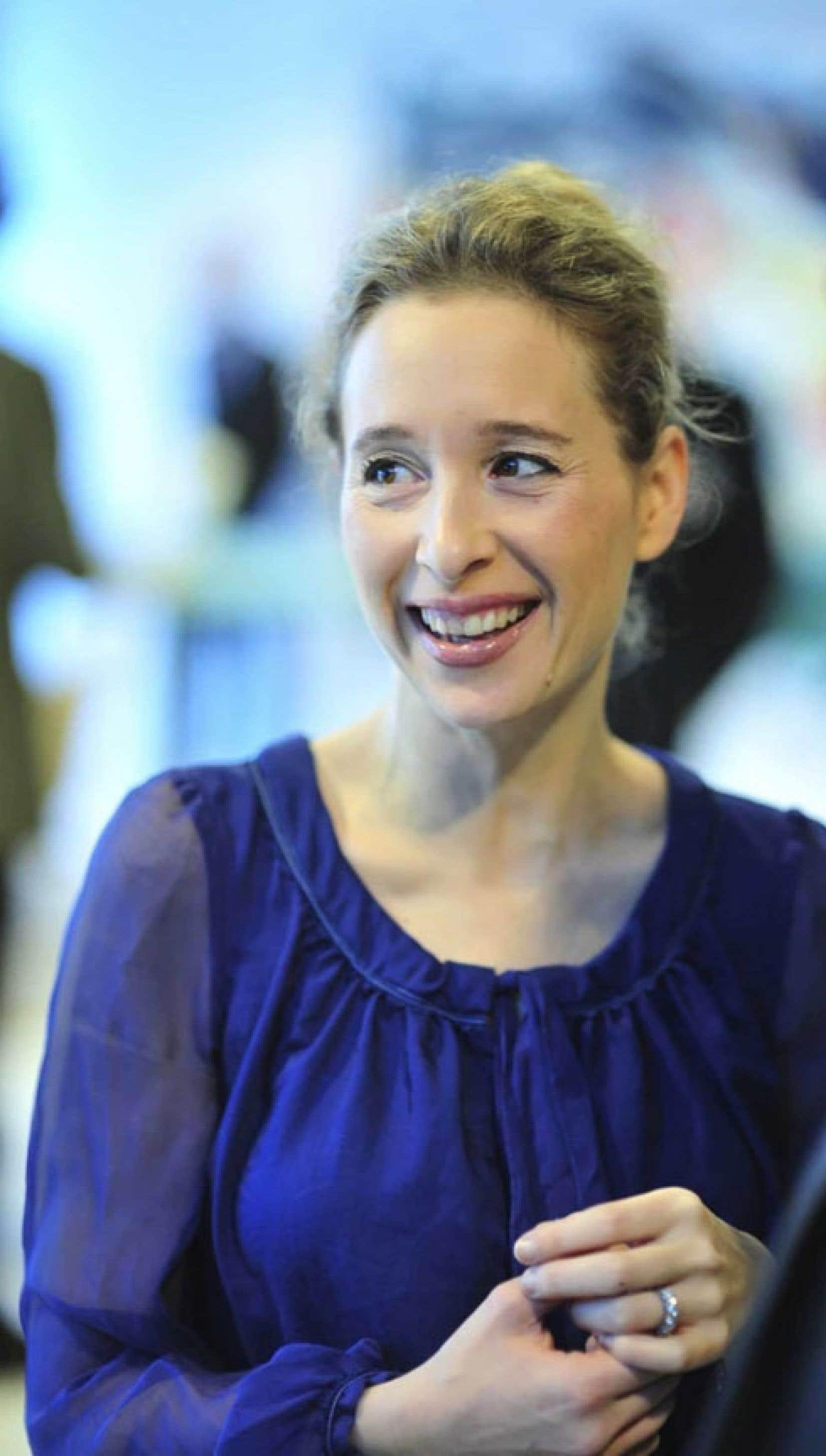 L'économiste britannique Noreena Hertz