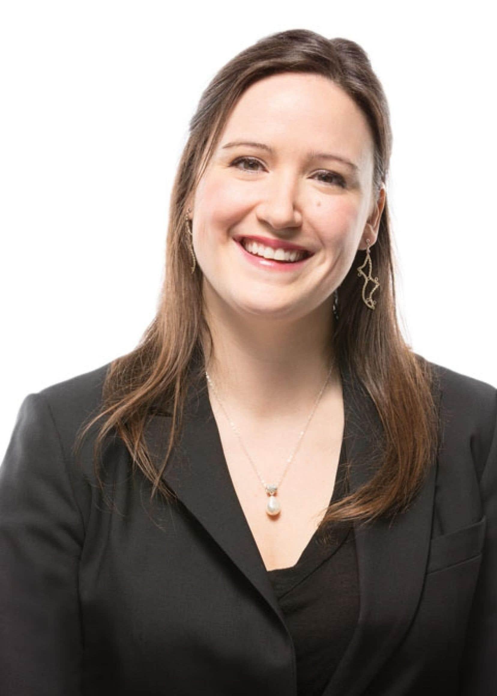 Chloé Fleurant, lauréate du prix Bénévole d'affaires