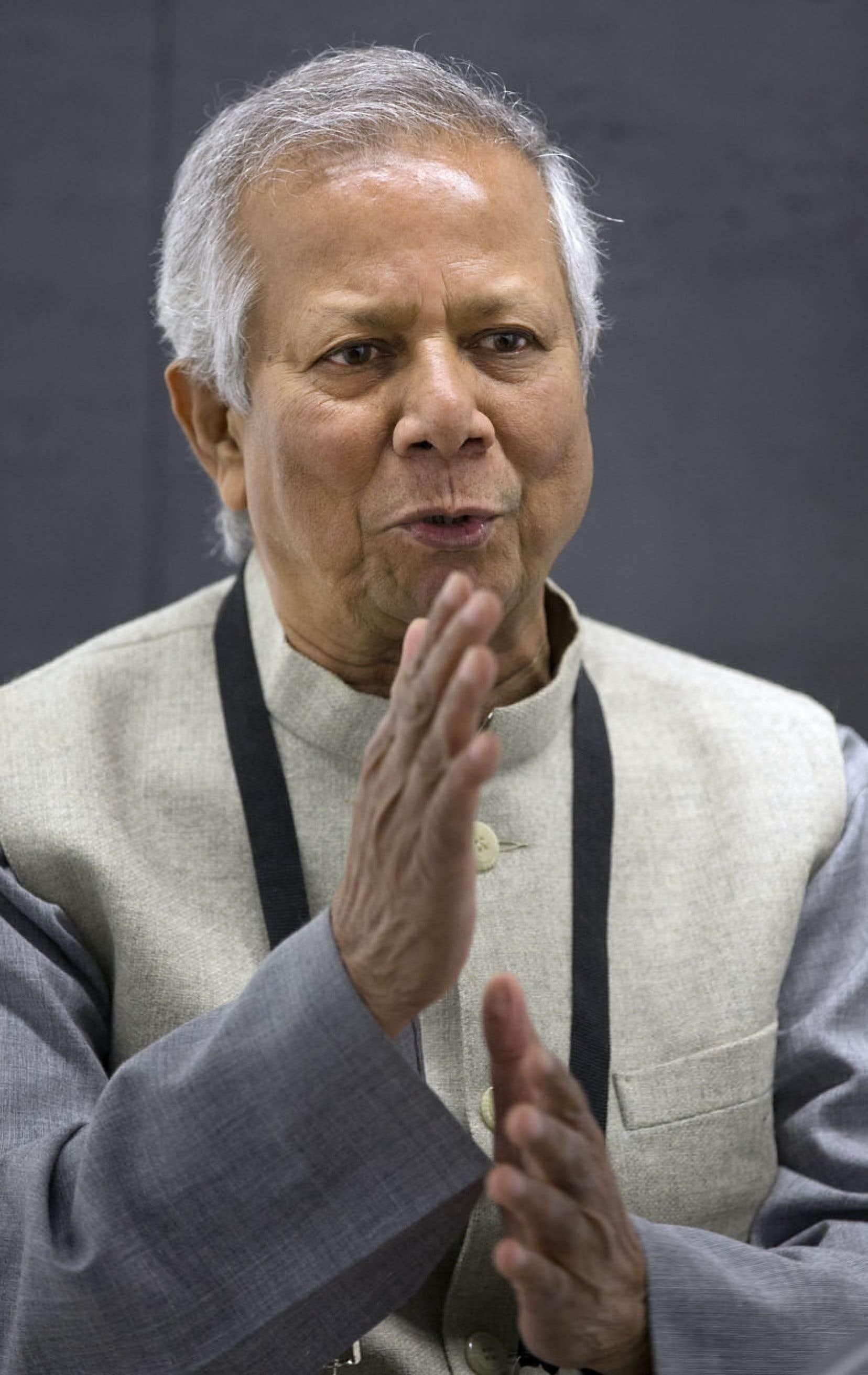 Muhammad Yunus : « Il est temps que les gens se demandent quels sont leurs véritables buts dans la vie. »