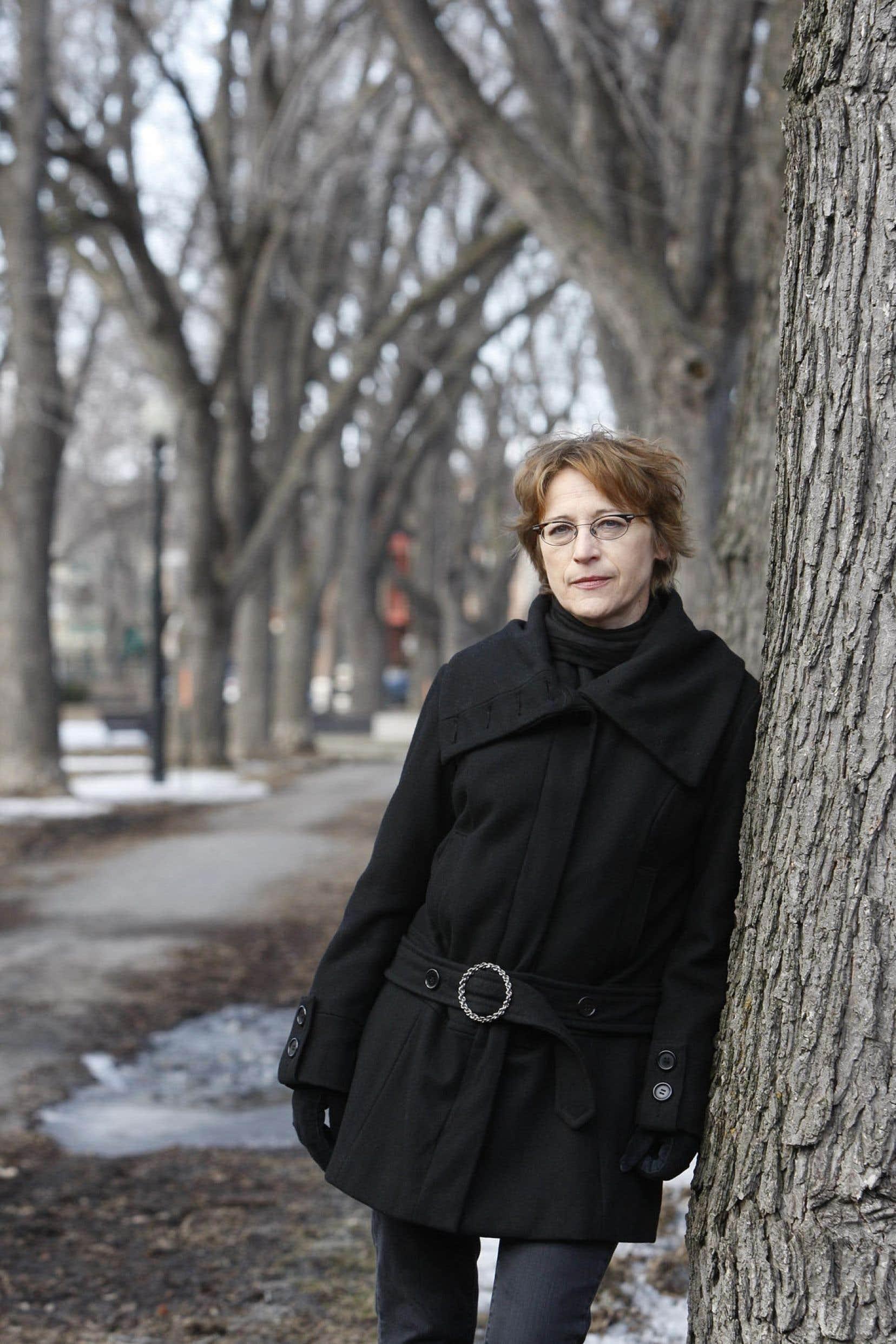 Andrée A. Michaud, auteure de Bondrée