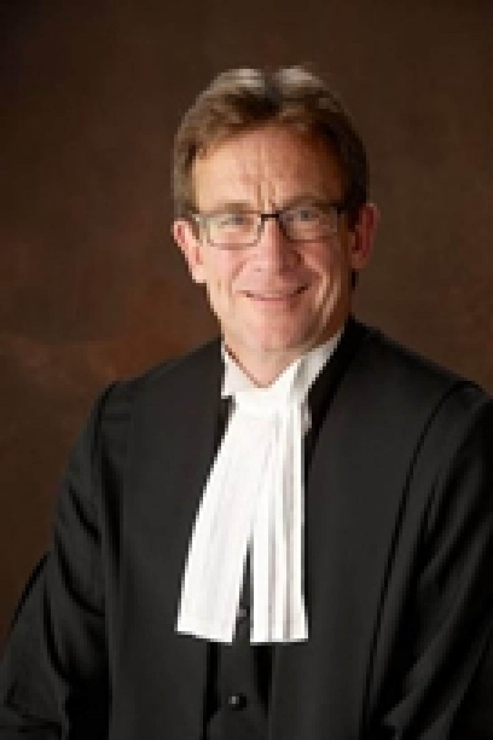 Le juge Clément Gascon