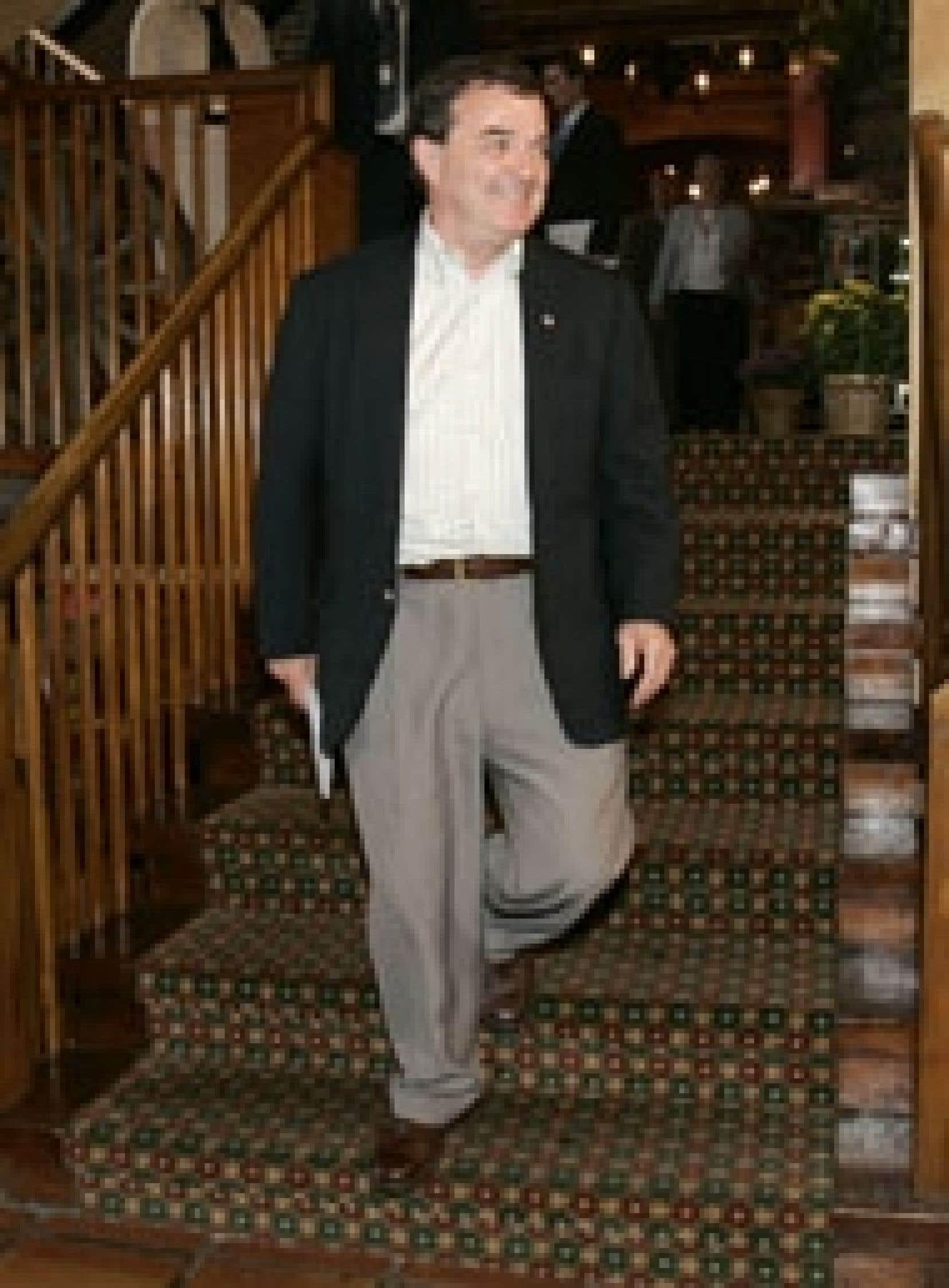 Le ministre fédéral des Finances, Jim Flaherty, à la conférence fédérale-provinciale de Niagara-on-the-Lake.