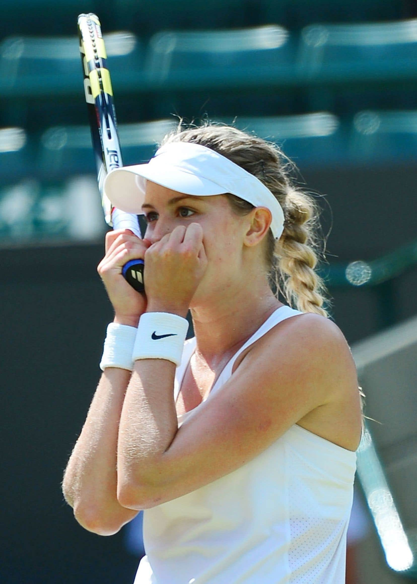 Eugenie Bouchard et son compatriote canadien Milos Raonic ont tous deux atteint<br /> le carré d'as mercredi au tournoi de tennis de Wimbledon.