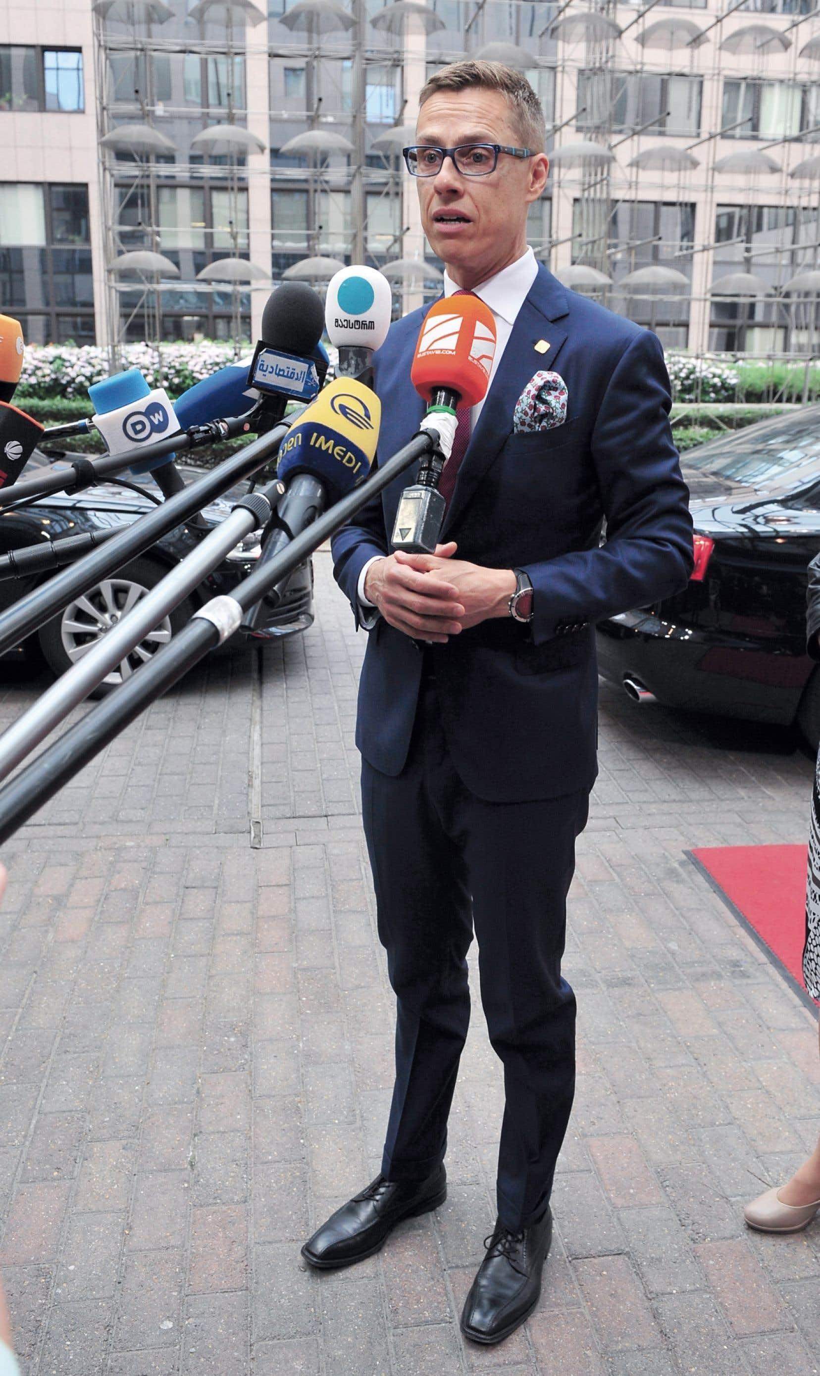 Le premier ministre de Finlance, Alexander Stubb.