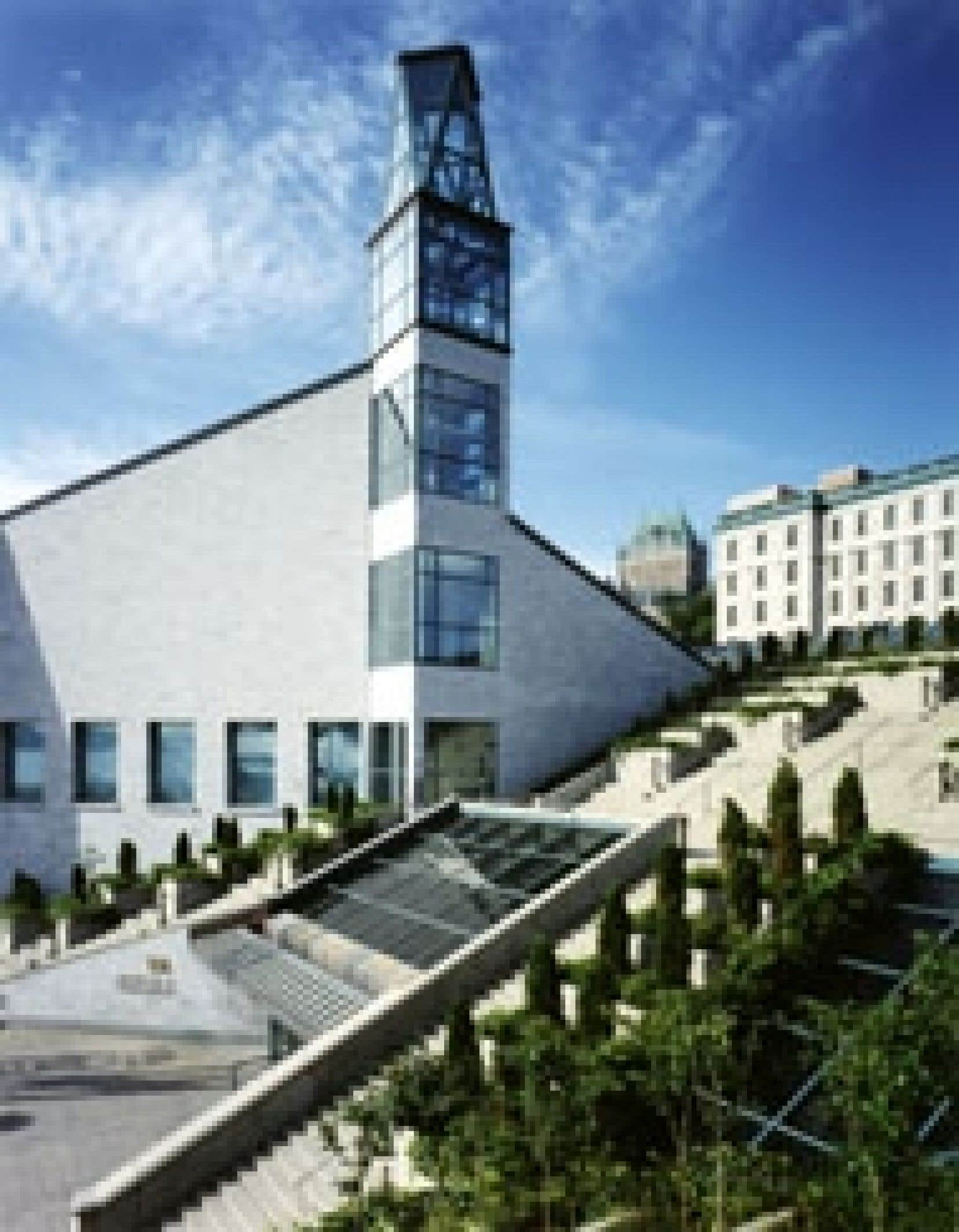 Le Musée de la civilisation, tout comme le Musée d'art contemporain et le Musée des beaux-arts, ne sera pas privatisé. Pas dans l'immédiat en tout cas. Source: Pierre Soulard – Musée de la cilivisation du Québec