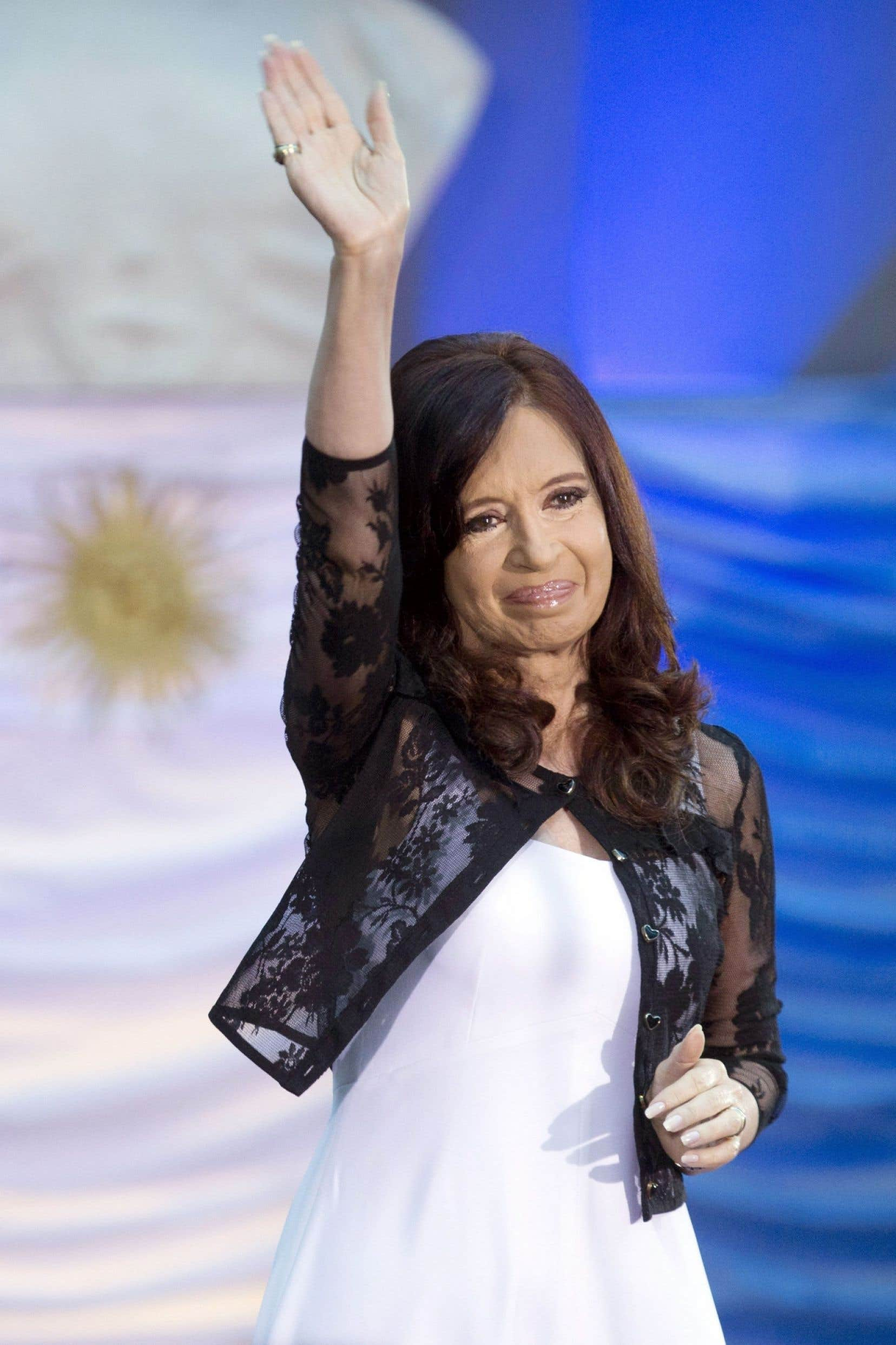 Cristina Fernández, présidente de l'Argentine