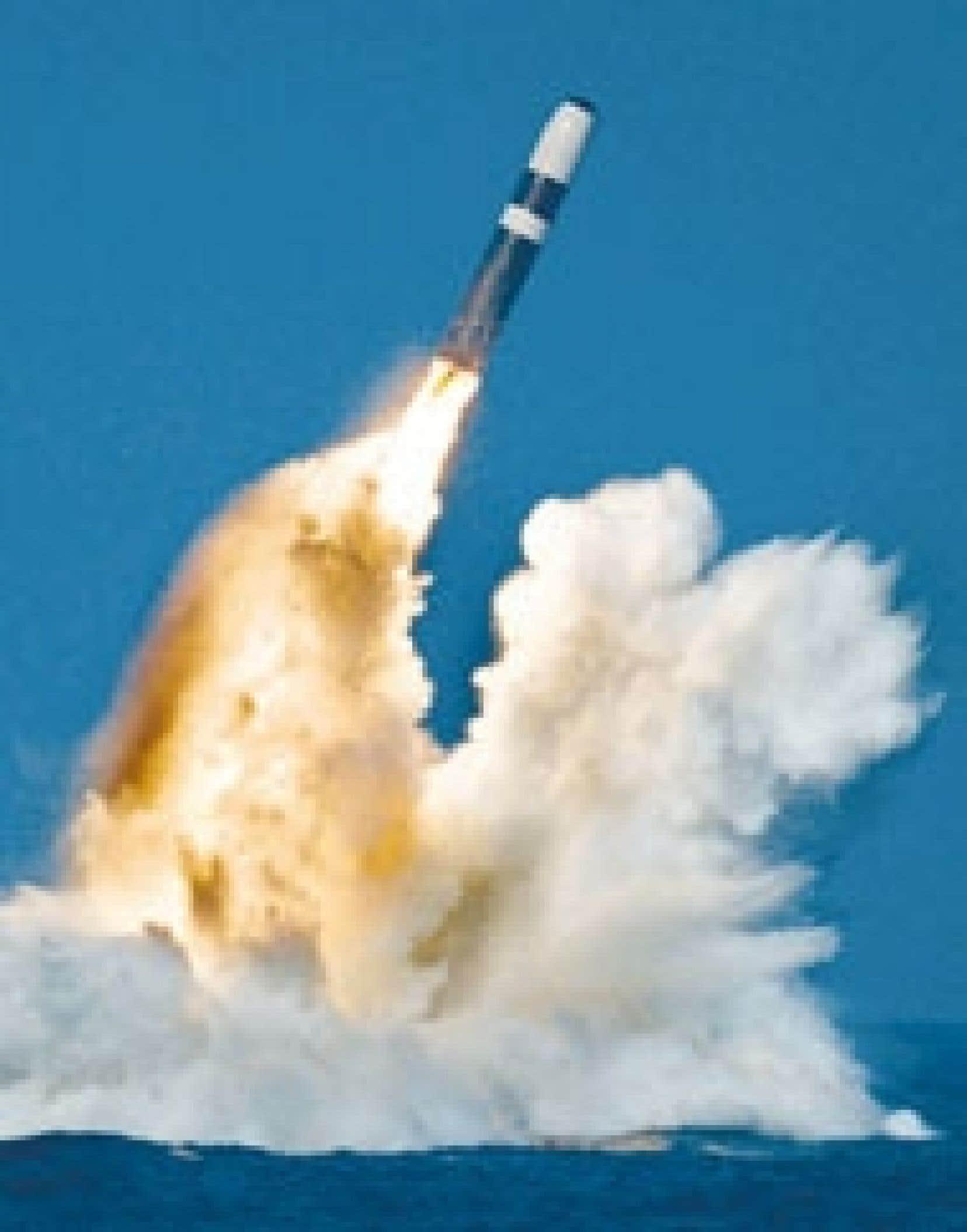 Un missile Trident.