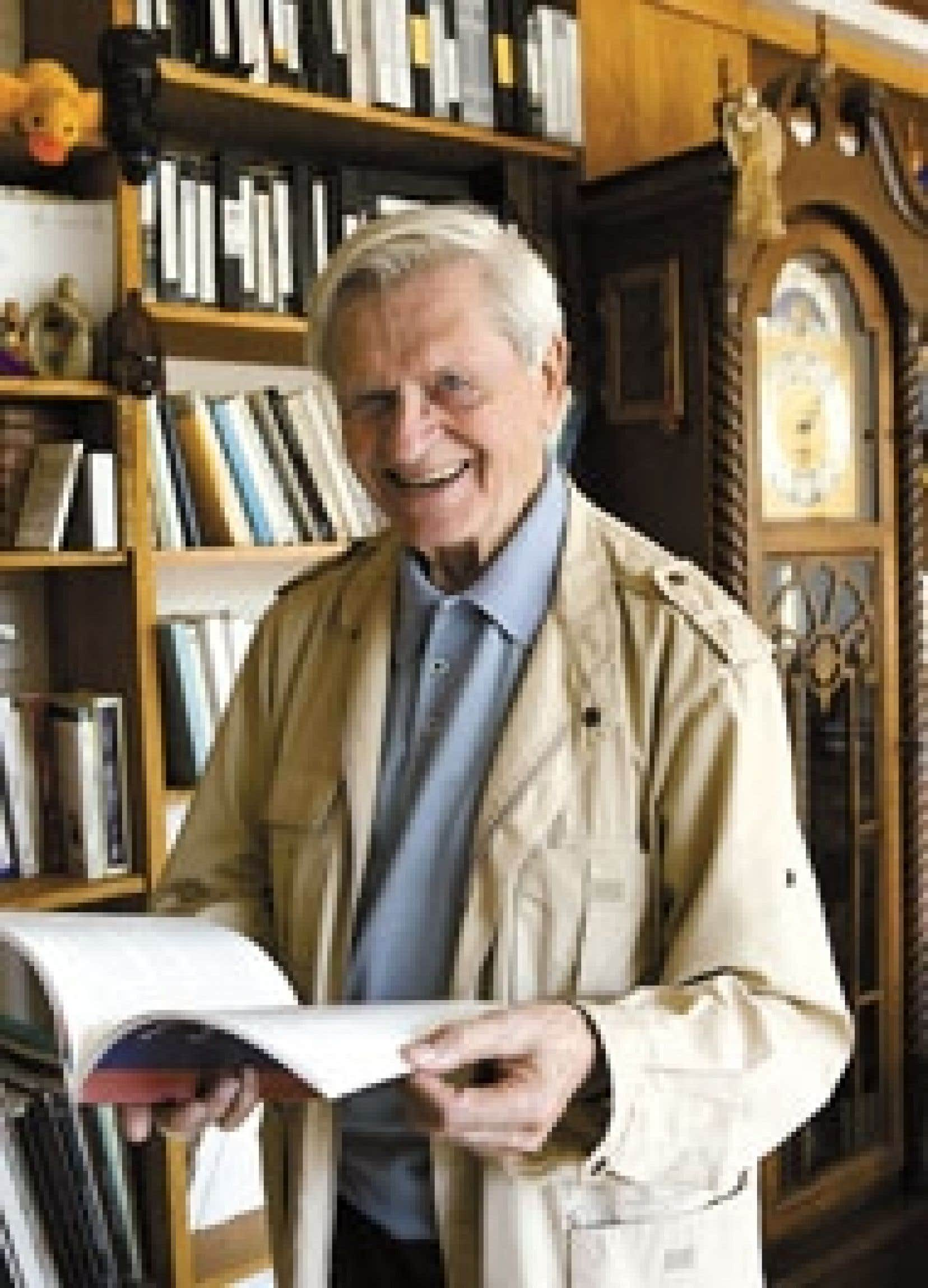 «Les artistes sont l'avenir du monde», dit le père Benoît Lacroix.