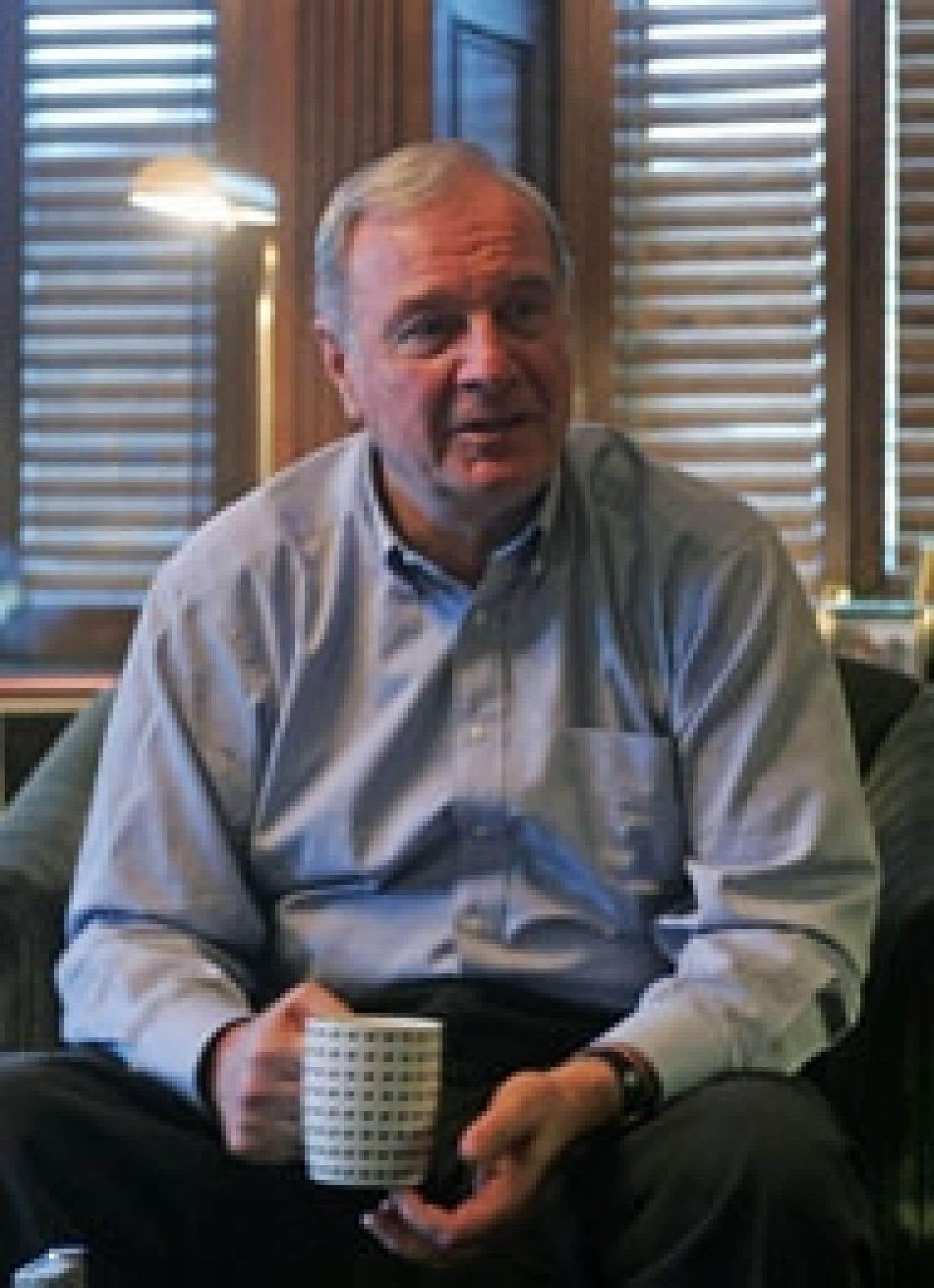 Le premier ministre Paul Martin a accordé quelques entrevues, ce week-end, dans son bureau de l'édifice du Parlement, à Ottawa.