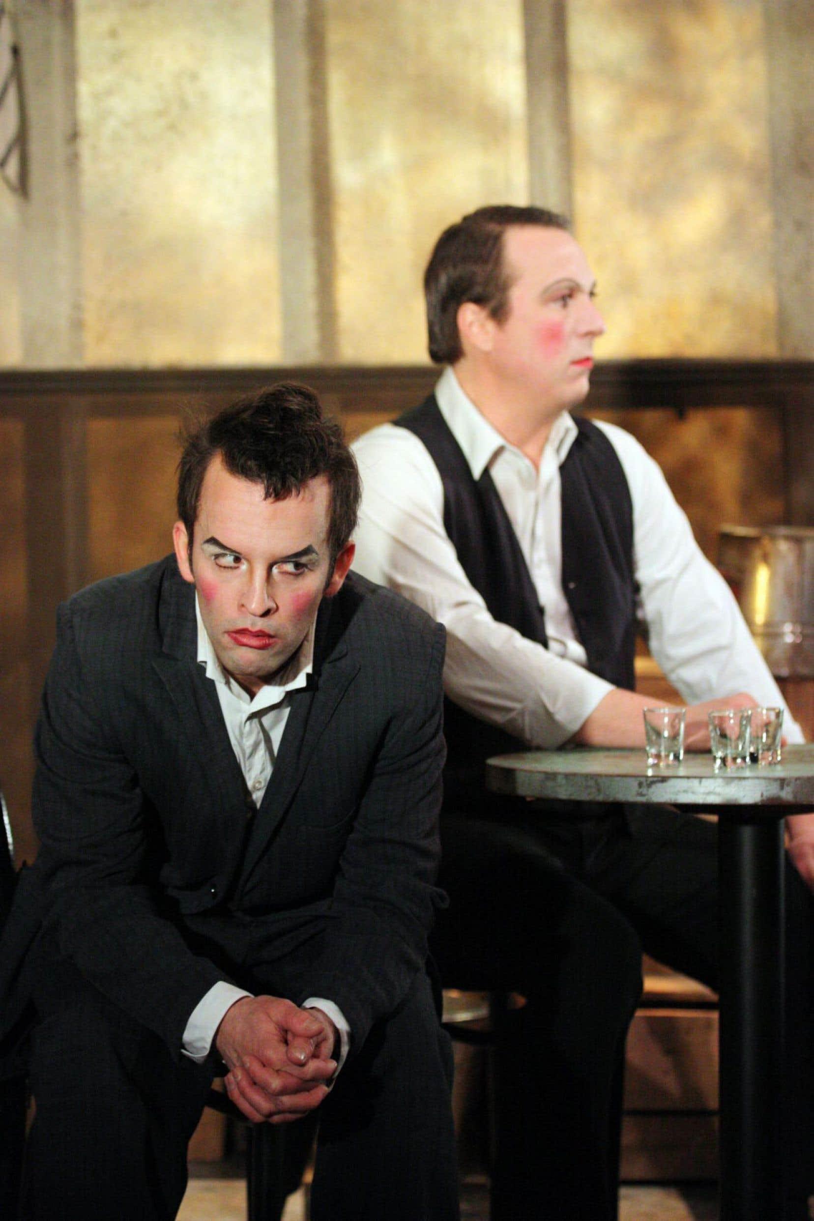 Une scène de Bar, montée en 2011 par Luce Pelletier