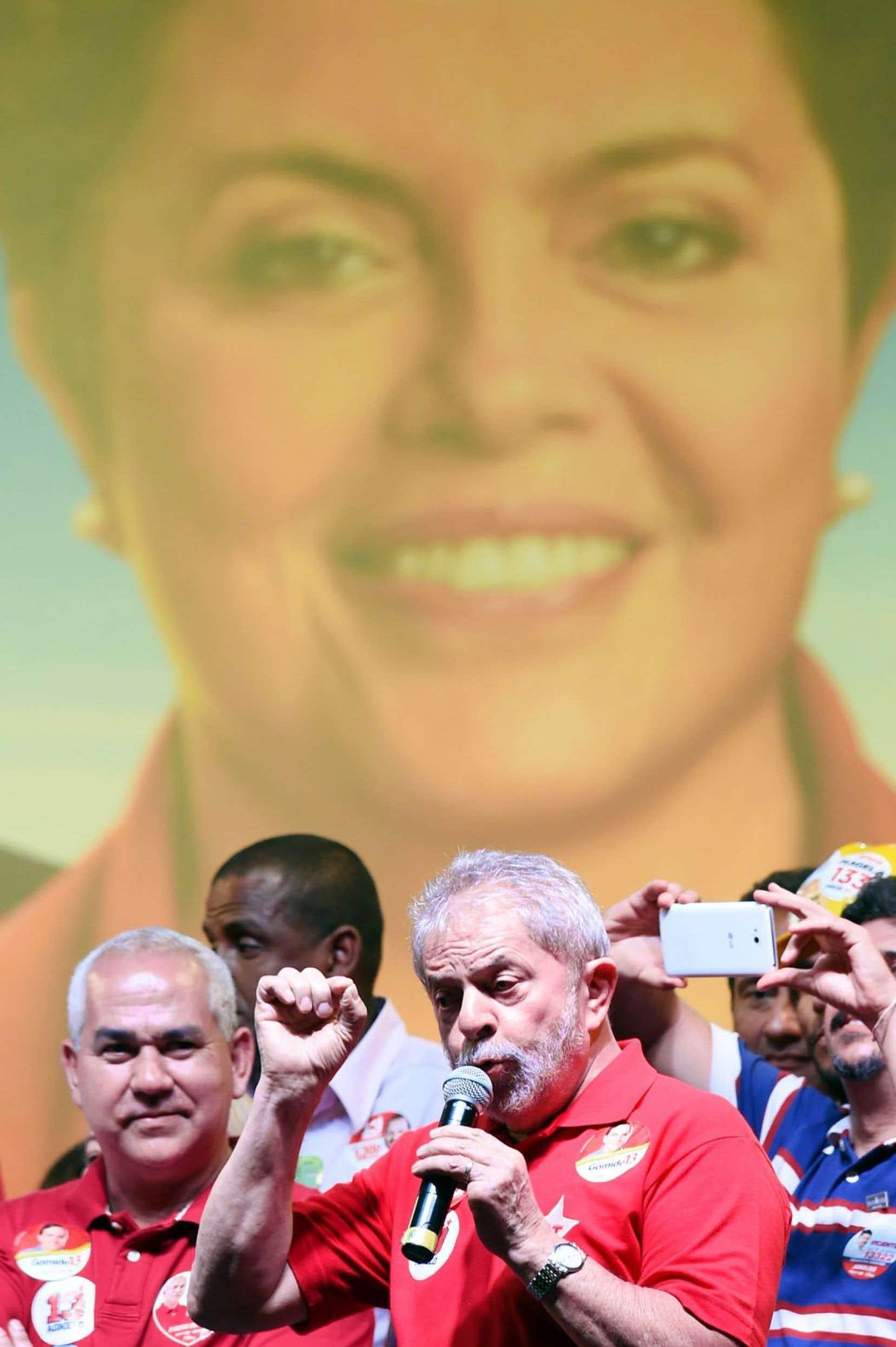 L'ex-président Lula s'est impliqué dans la campagne en cours au Brésil.