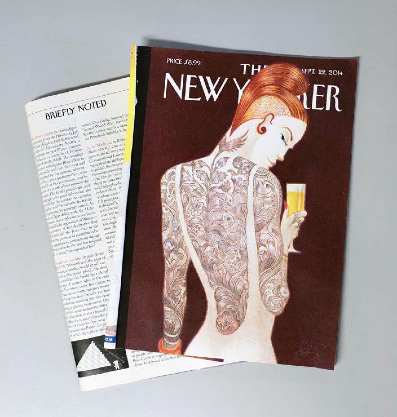 """«C'est devenu chez moi un rituel ironique: à chaque nouvelle livraison du New Yorker, aller voir à la rubrique """"Briefly noted"""" si mon bouquin n'y aurait pas mérité ne serait-ce qu'une désobligeante douzaine de lignes.»"""