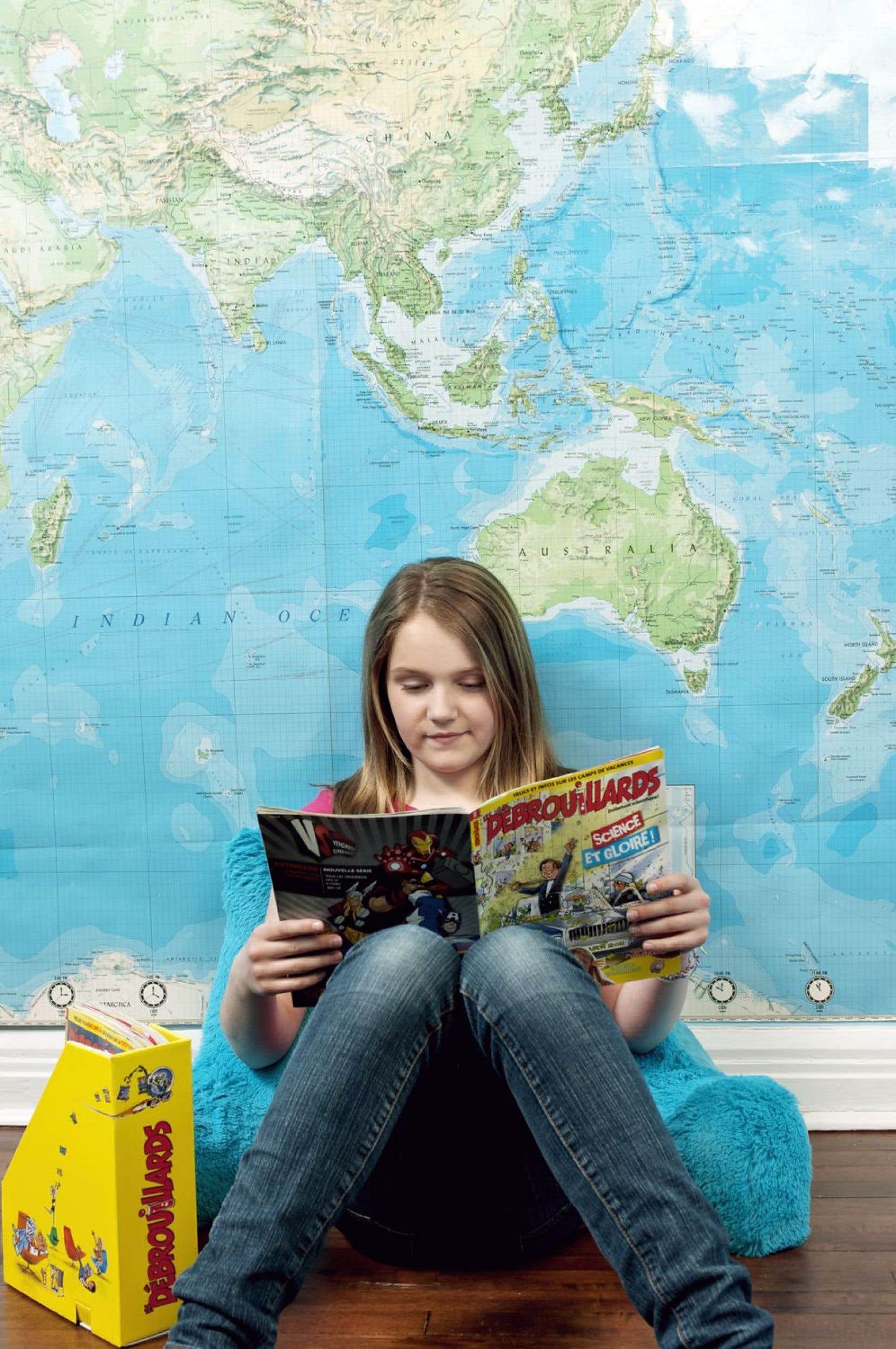 Le magazine de vulgarisation scientifique «Les Débrouillards» s'adresse aux 9 à 13 ans. L'éditeur pilote aussi les publications «Les Explorateurs» et «Curium», tous deux pour les jeunes.