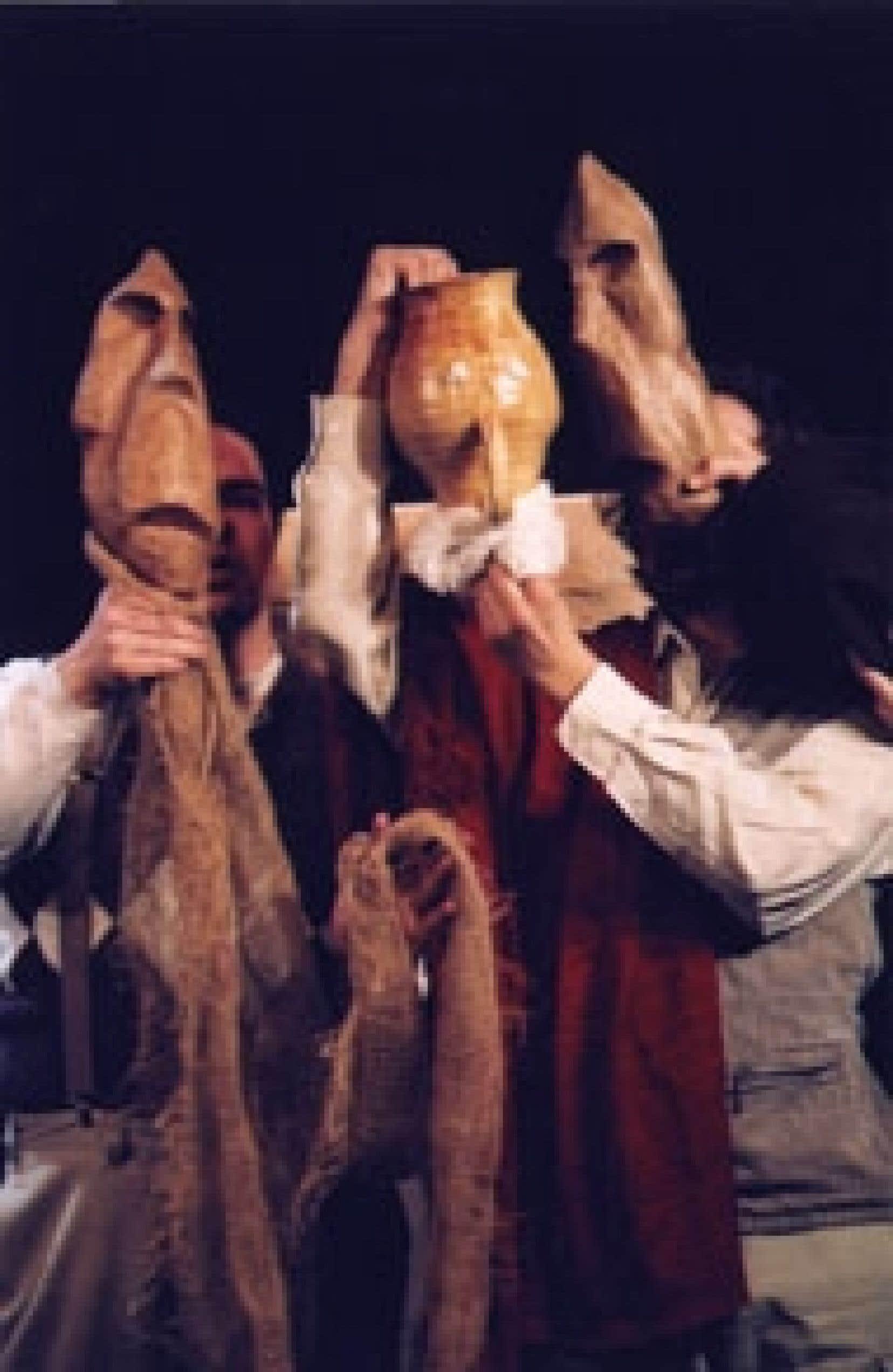 Avec la pièce Persée, du Théâtre de la Pire Espèce, l'inventivité est une fois de plus du voyage. Source : Suzane O'neill