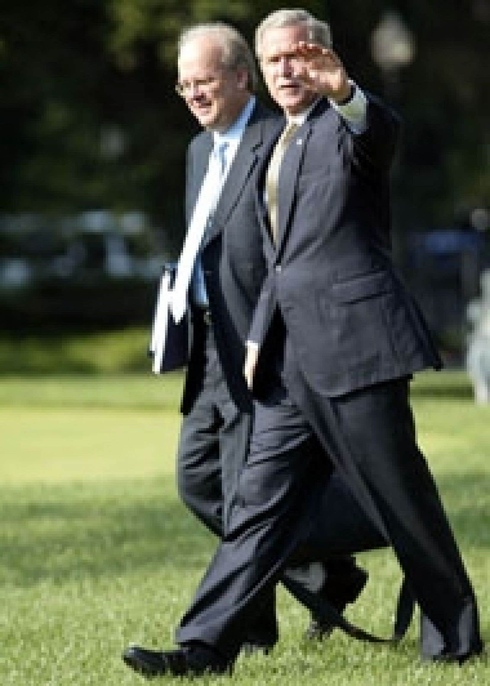 Karl Rove, le fidèle conseiller de George W. Bush.