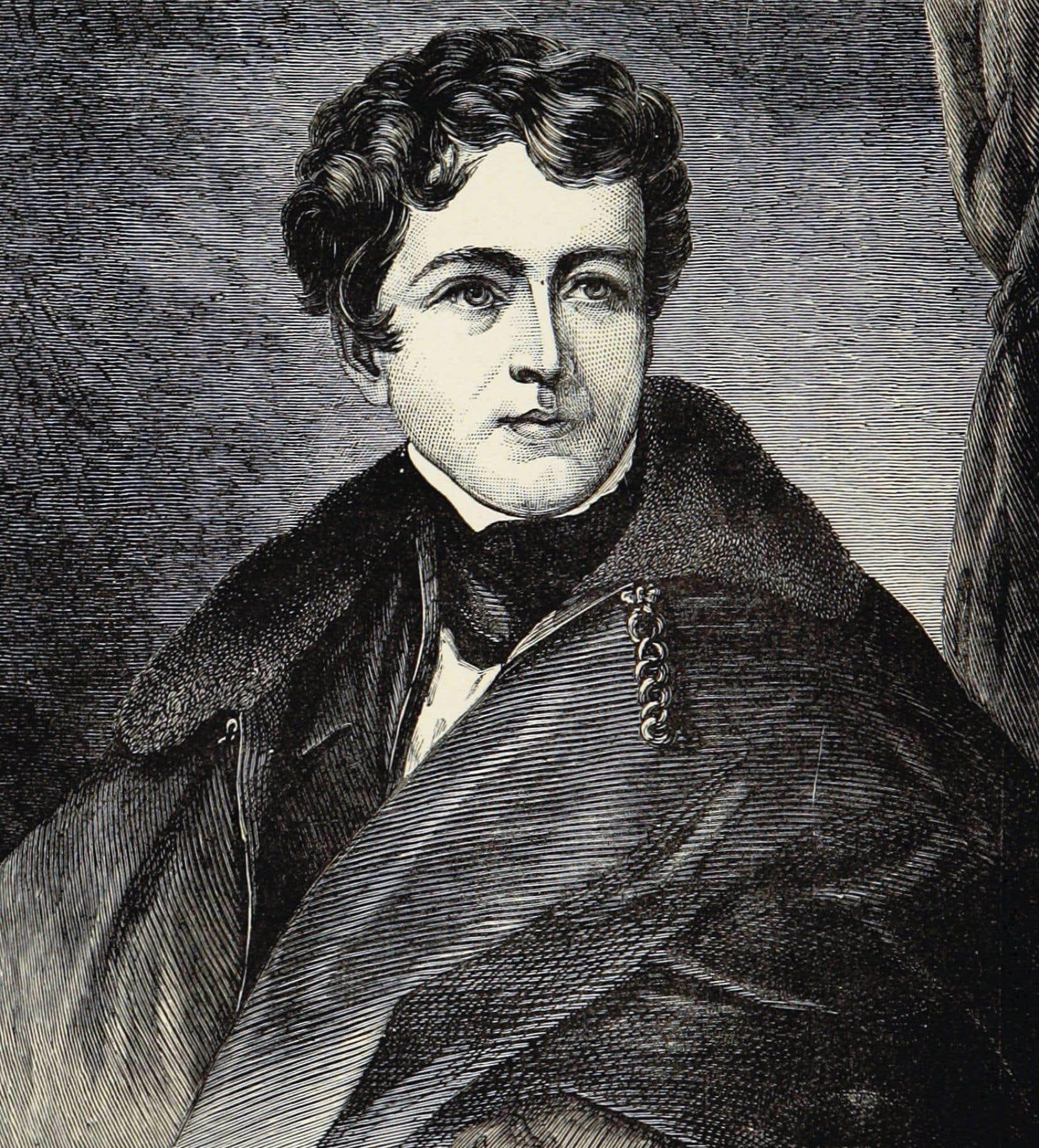 Portrait de John George Lambton, 1ercomte de Durham