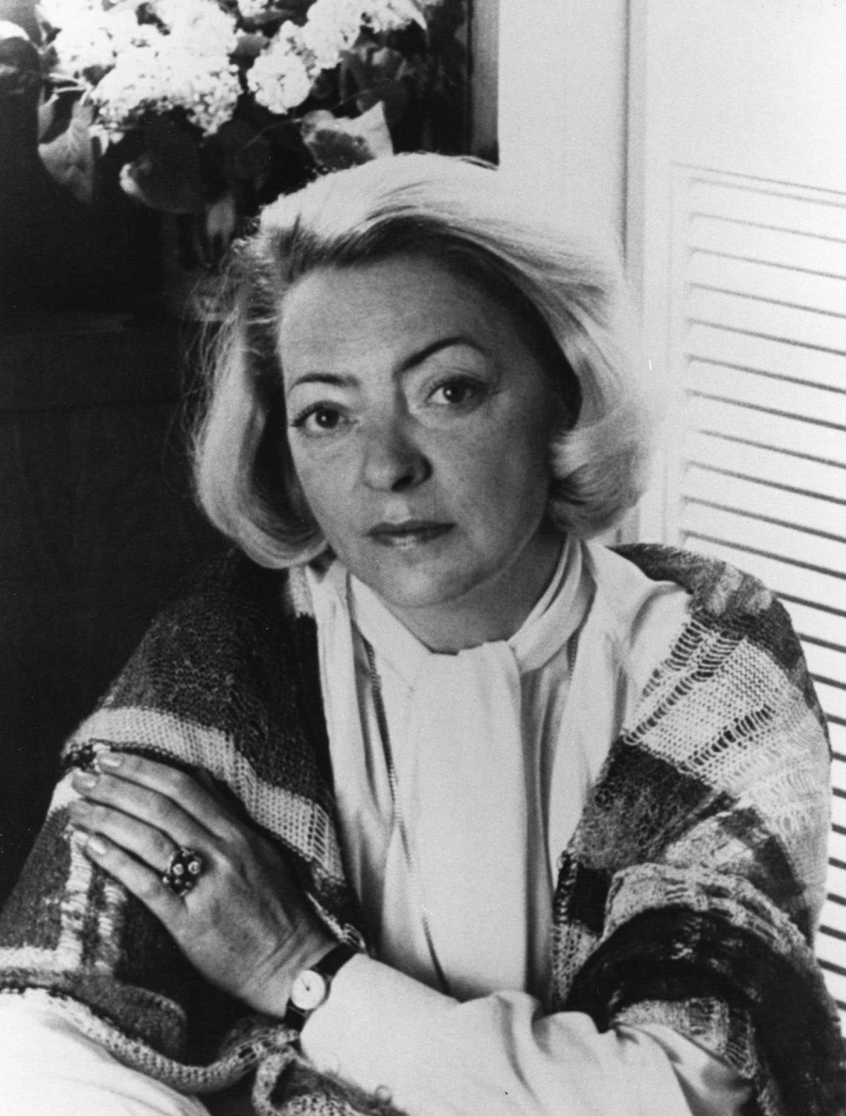 Louise Maheux-Forcier, auteure, vers 1980