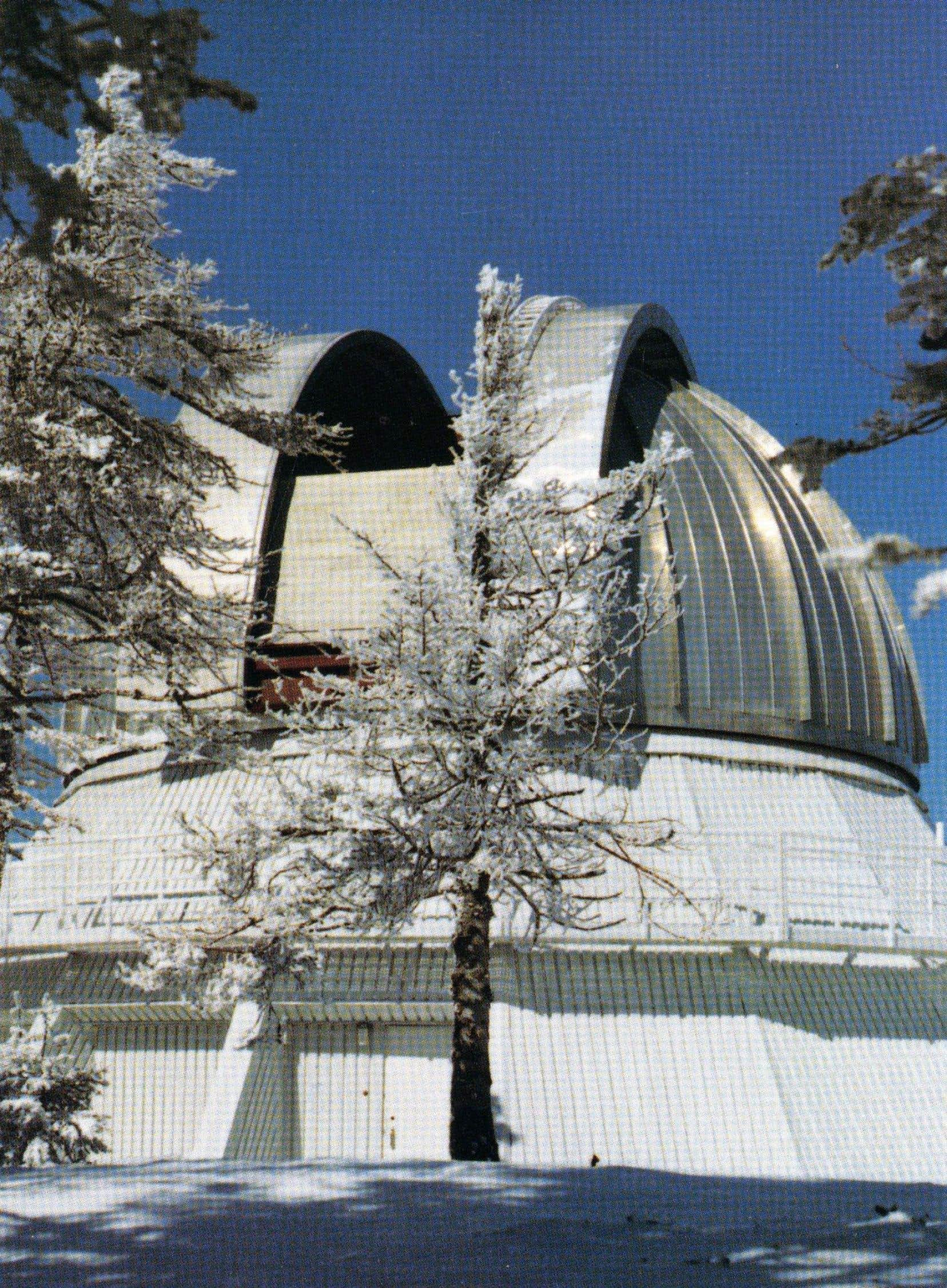 L'observatoire, le plus grand du genre dans l'est du Canada, est en fonction depuis 1978.