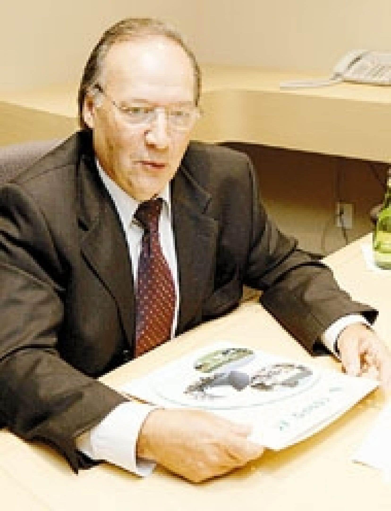 Laurent Pedneault, principal actionnaire, président et chef de la direction de Conporec.