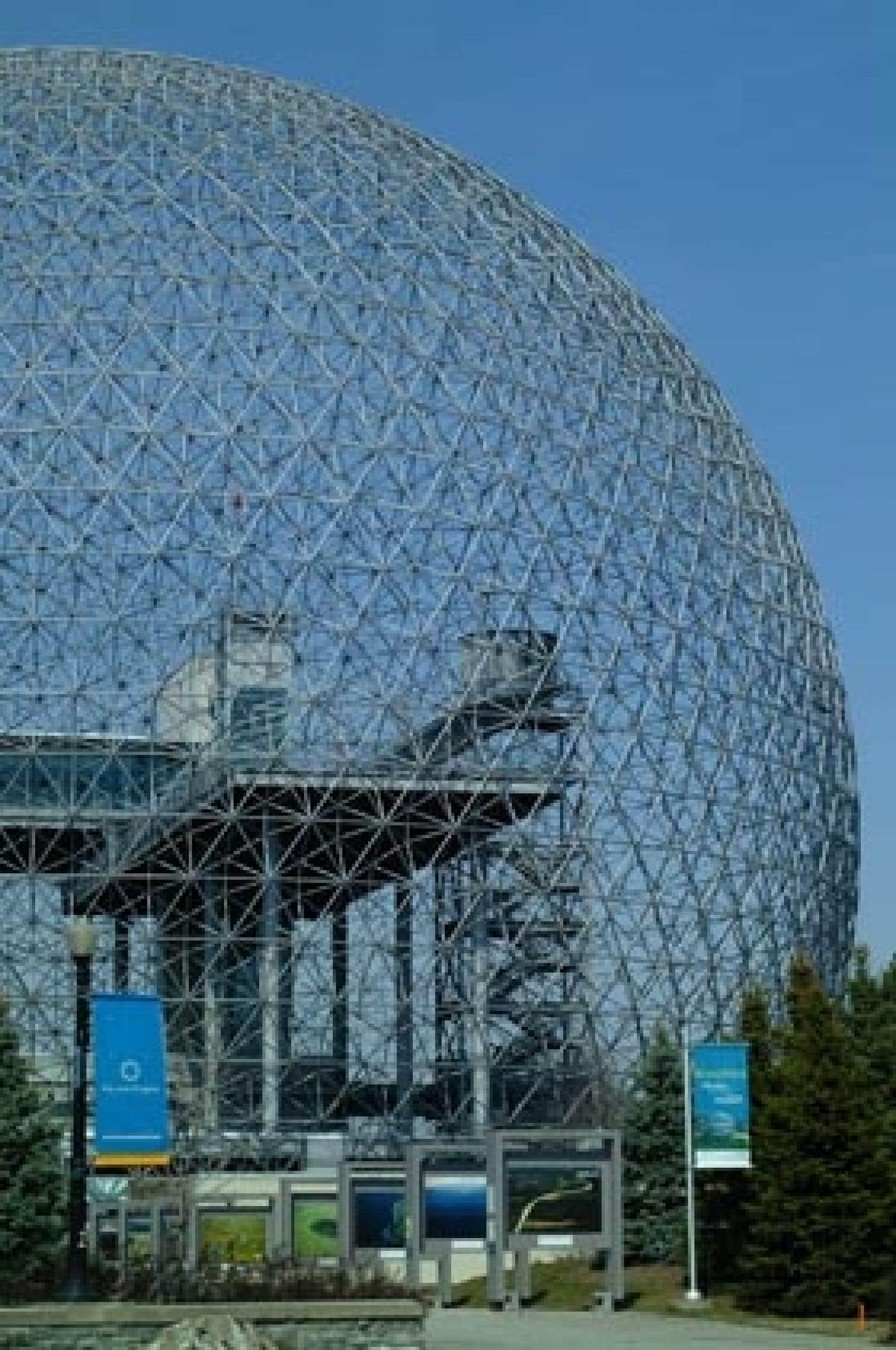 L'ancien pavillon des États-Unis, le plus fréquenté de l'Expo 67, est devenu un musée de l'environnement.