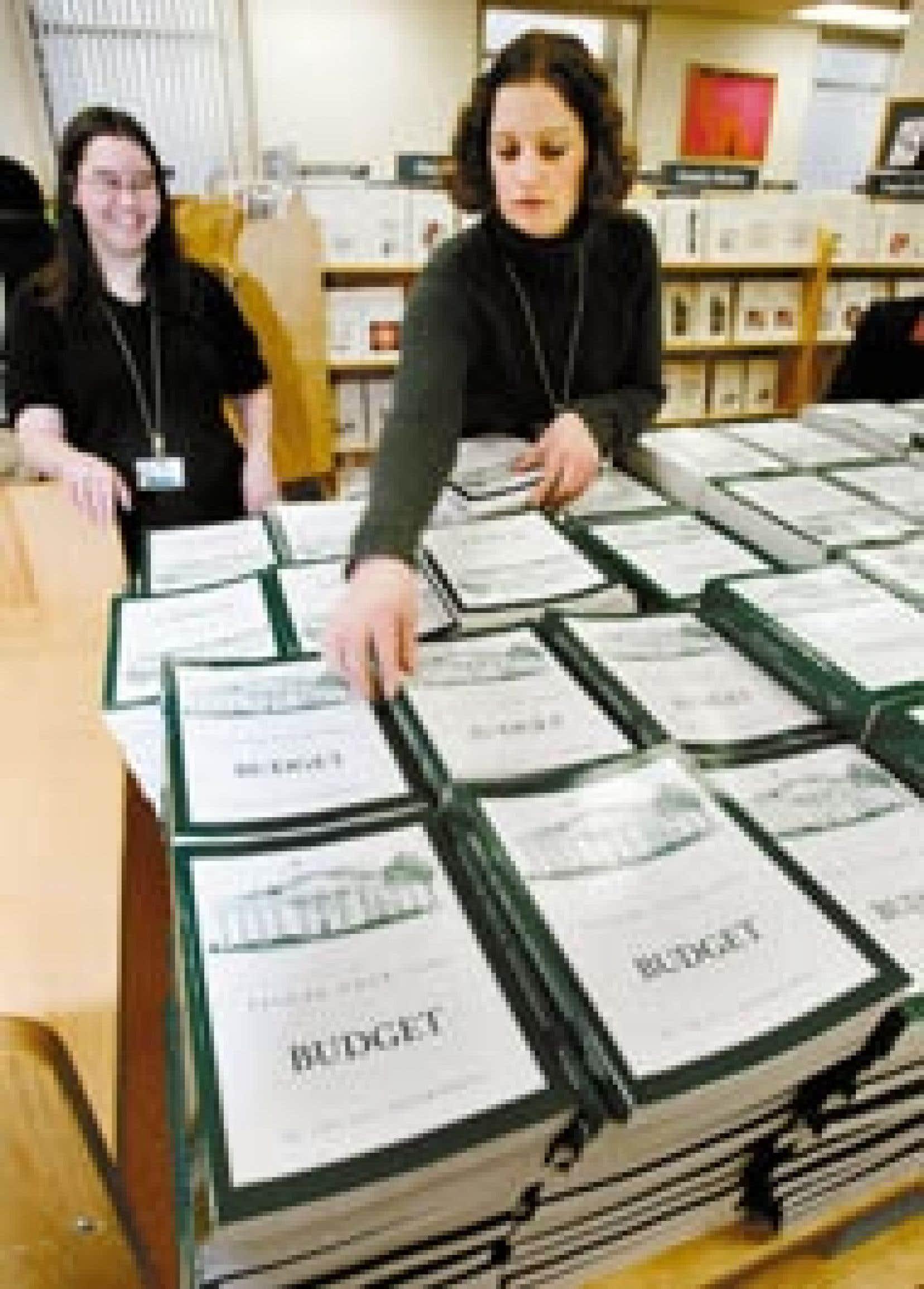 L'administration Bush a présenté lundi son projet de budget 2005.