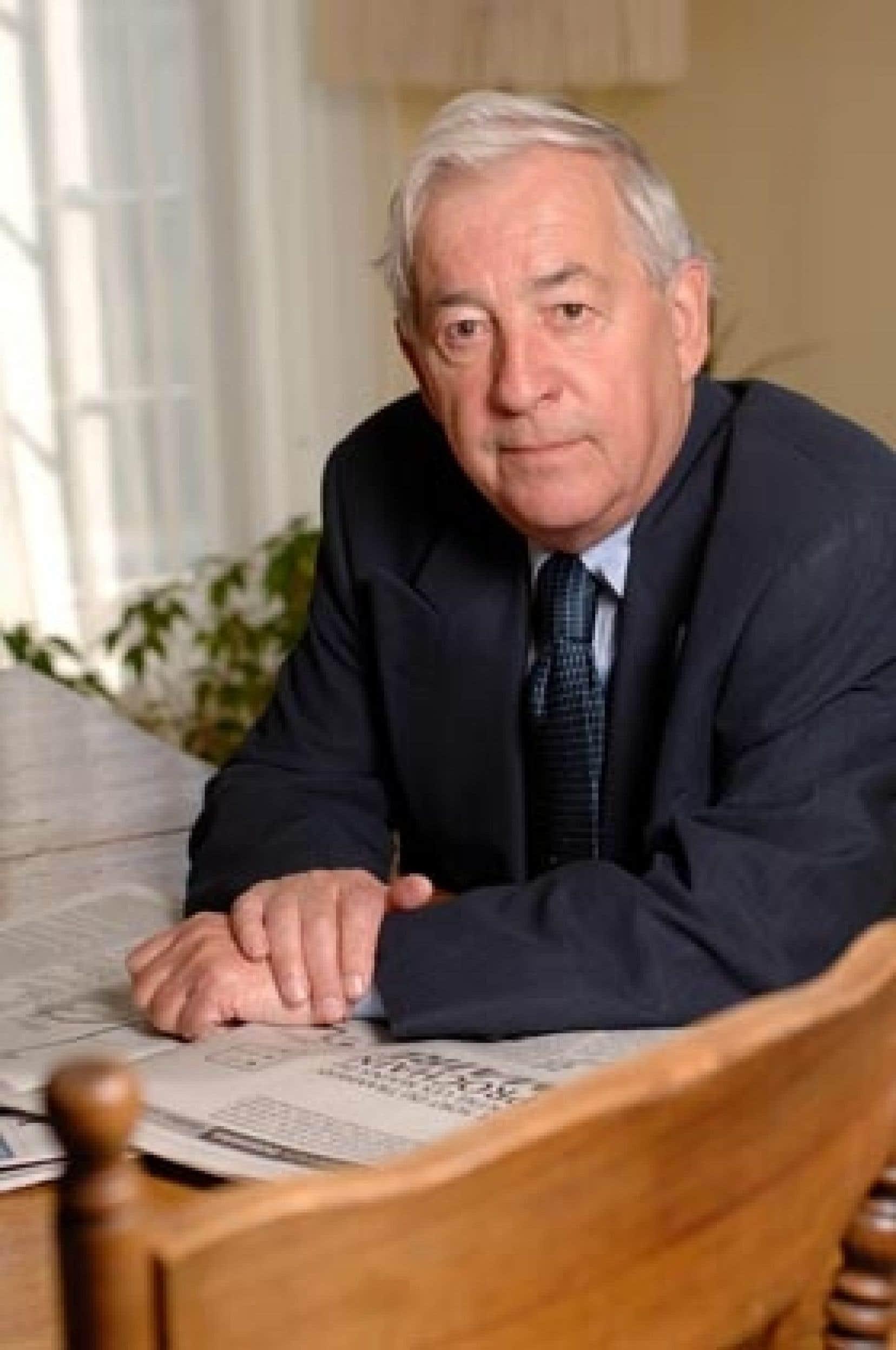 L'historien Jacques Lacoursière