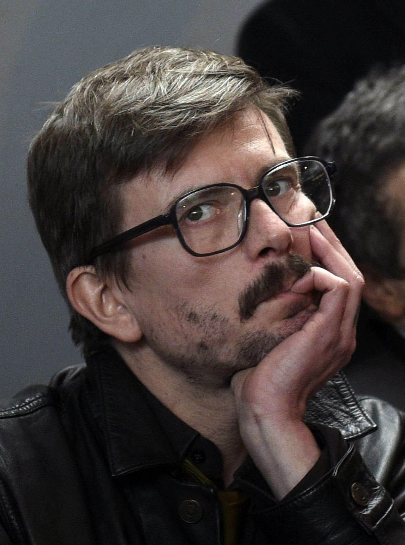 Luz, dessinateur de<em> Charlie Hebdo</em>, photographié le 13 janvier dernier.