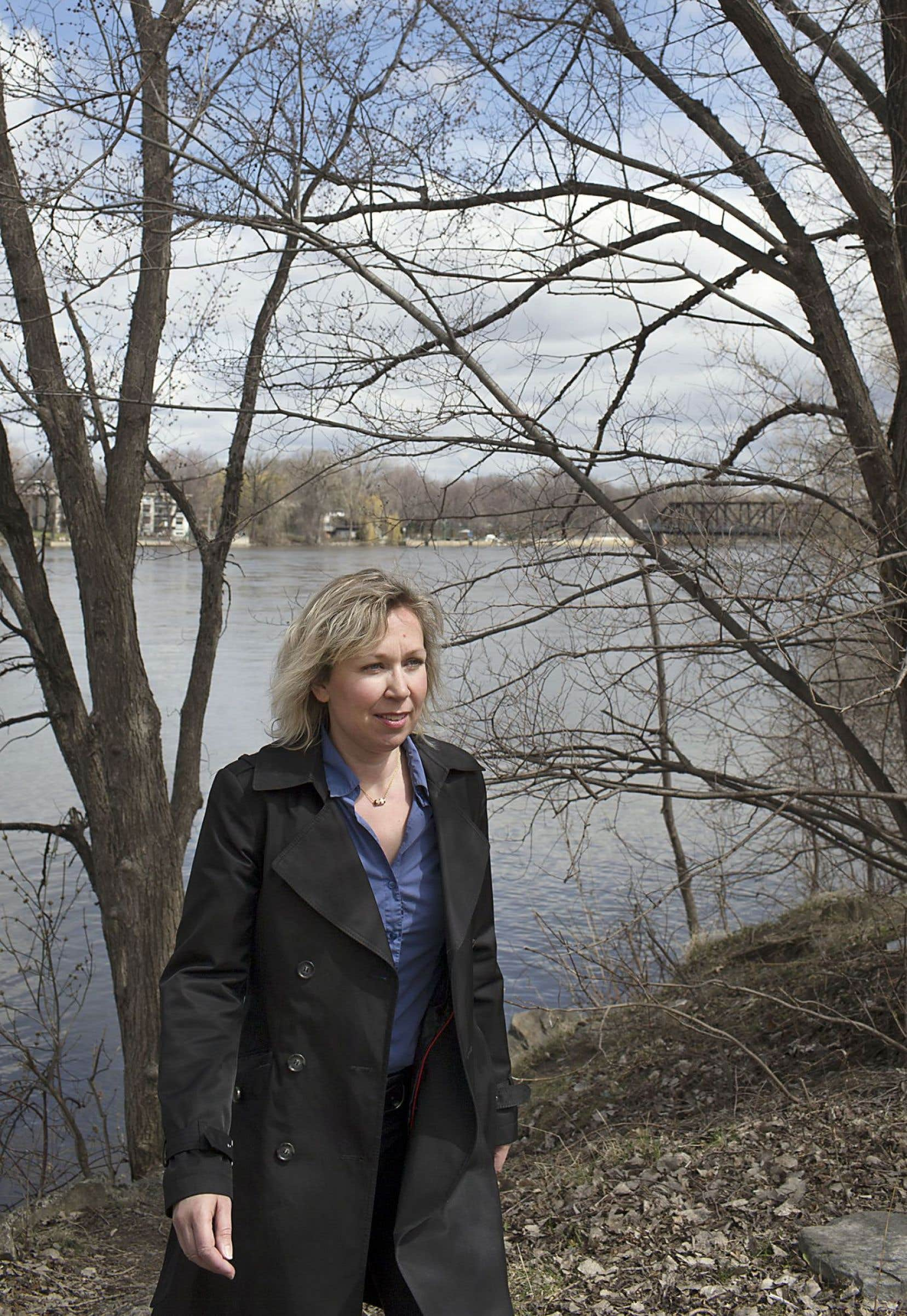 L'auteure Morgan Le Thiec