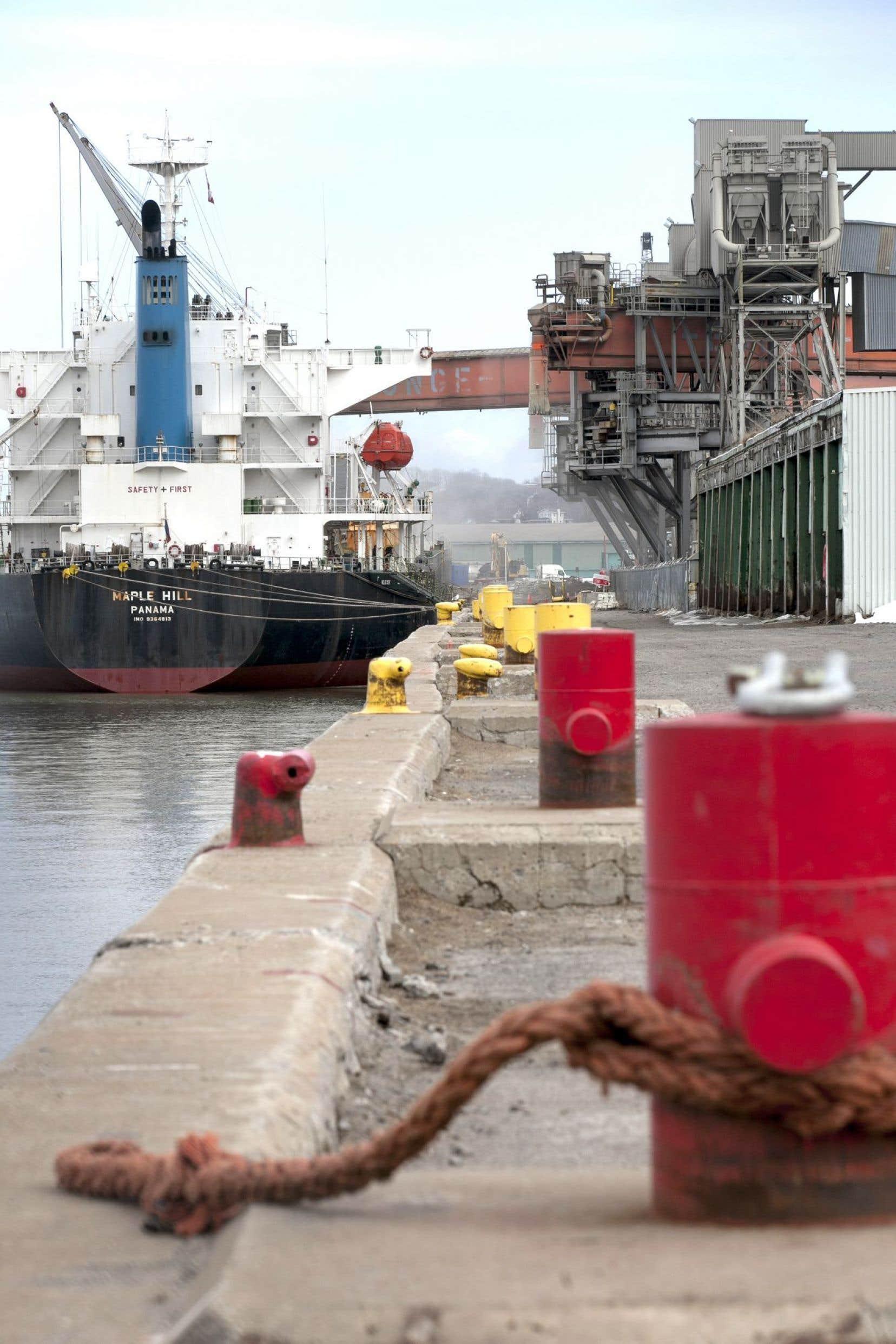 Le projet d'expansion prévoit d'abord le prolongement de la ligne des quais sur plus de 600 mètres et la reconfiguration de la baie de Beauport.