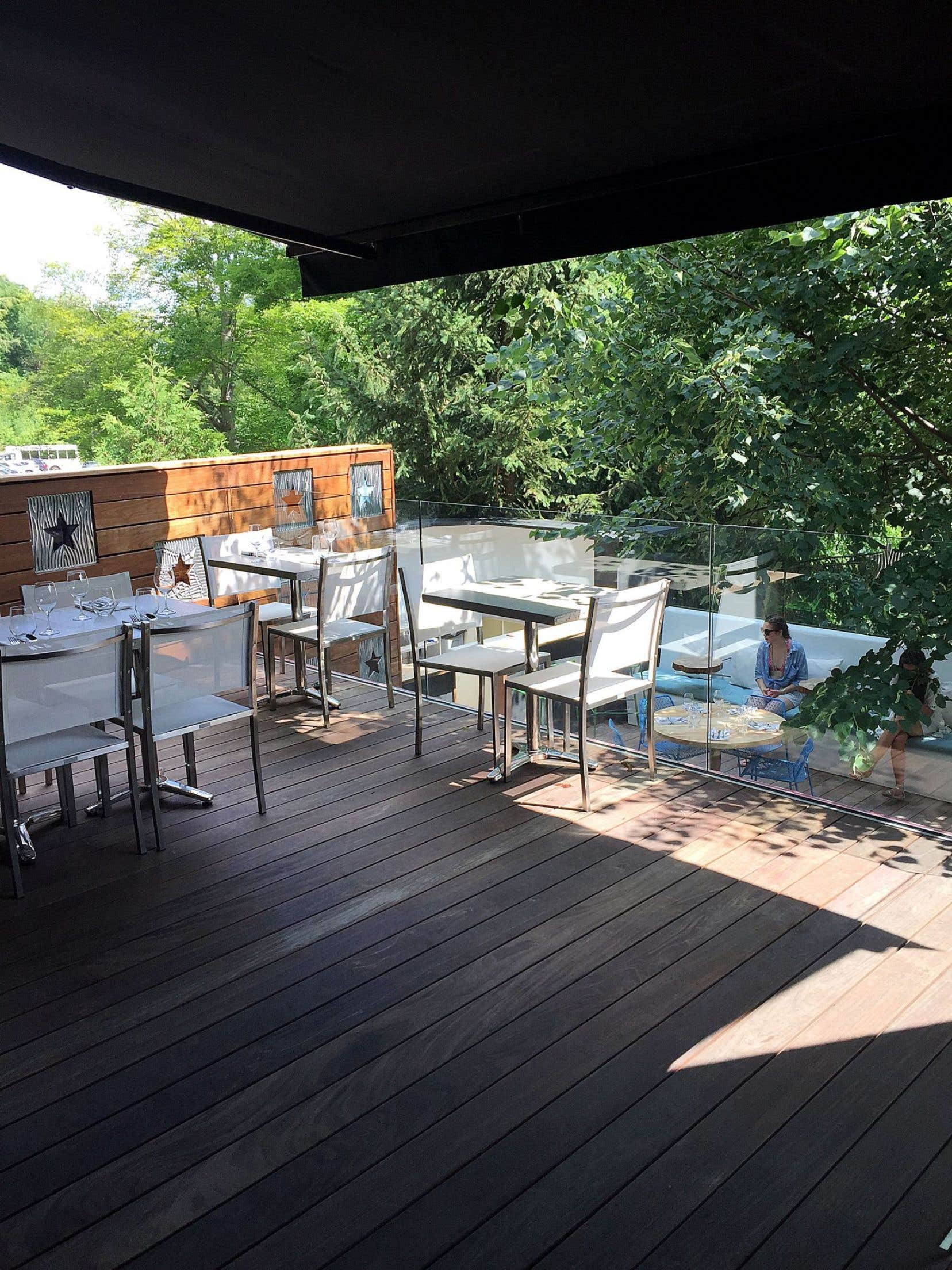 Le restaurant Lumami se trouve dans l'environnement très apaisant du spa Balnea, à Bromont.