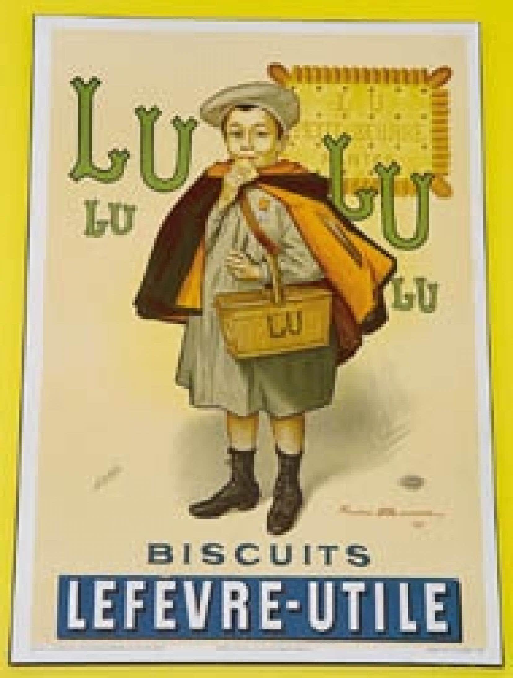 Lu, avec son petit écolier qui remonte à 1886, est lui aussi toujours bien présent et apparaît encore comme la récompense du retour à l'école.