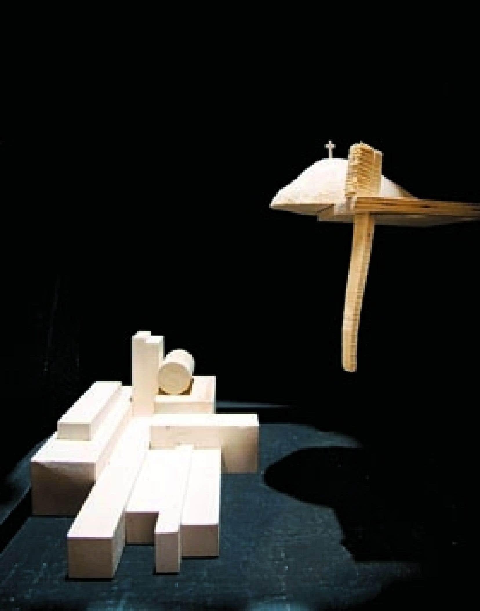 Vaisseau boréal (détail), de Gilles Mihalcean, 2007-2008