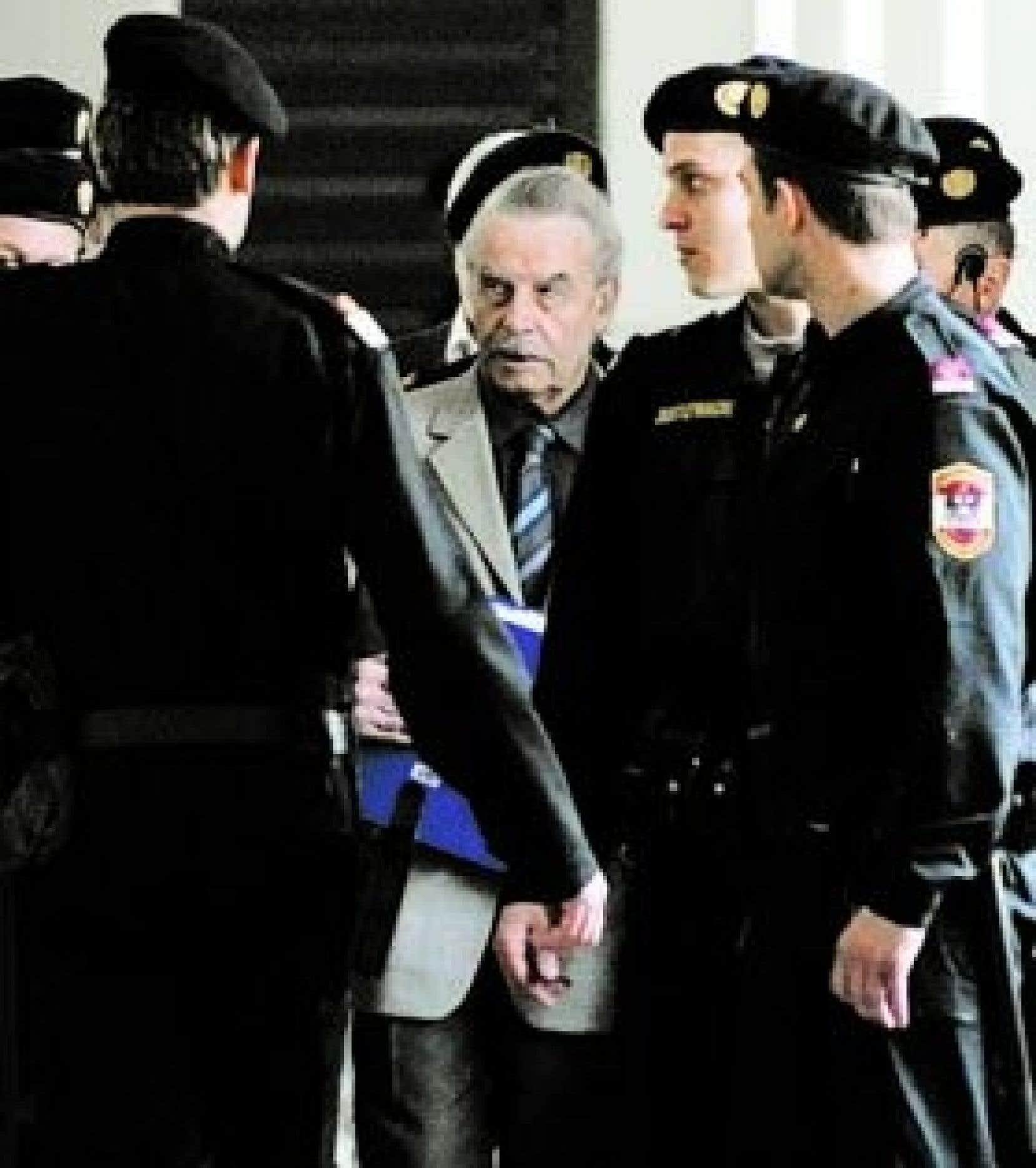 Josef Fritzl risque la réclusion à perpétuité à l'issue du procès dont le verdict sera prononcé aujourd'hui.