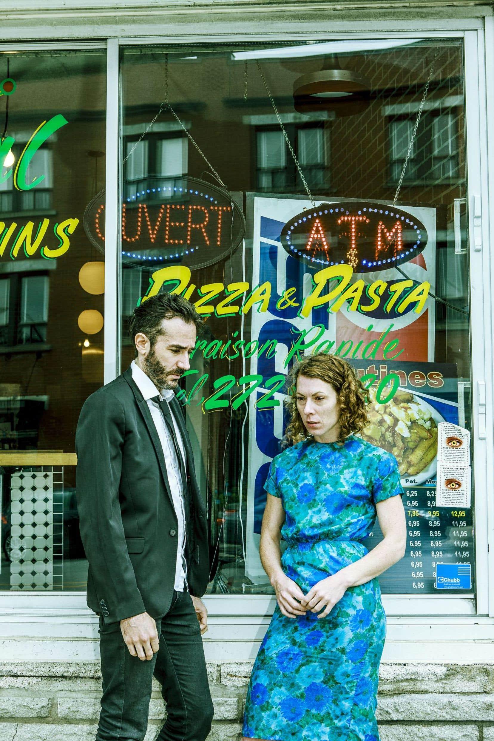 Tout en étant plus serein, le nouveau duo de Frédérick Gravel traite aussi du thème de l'échec.