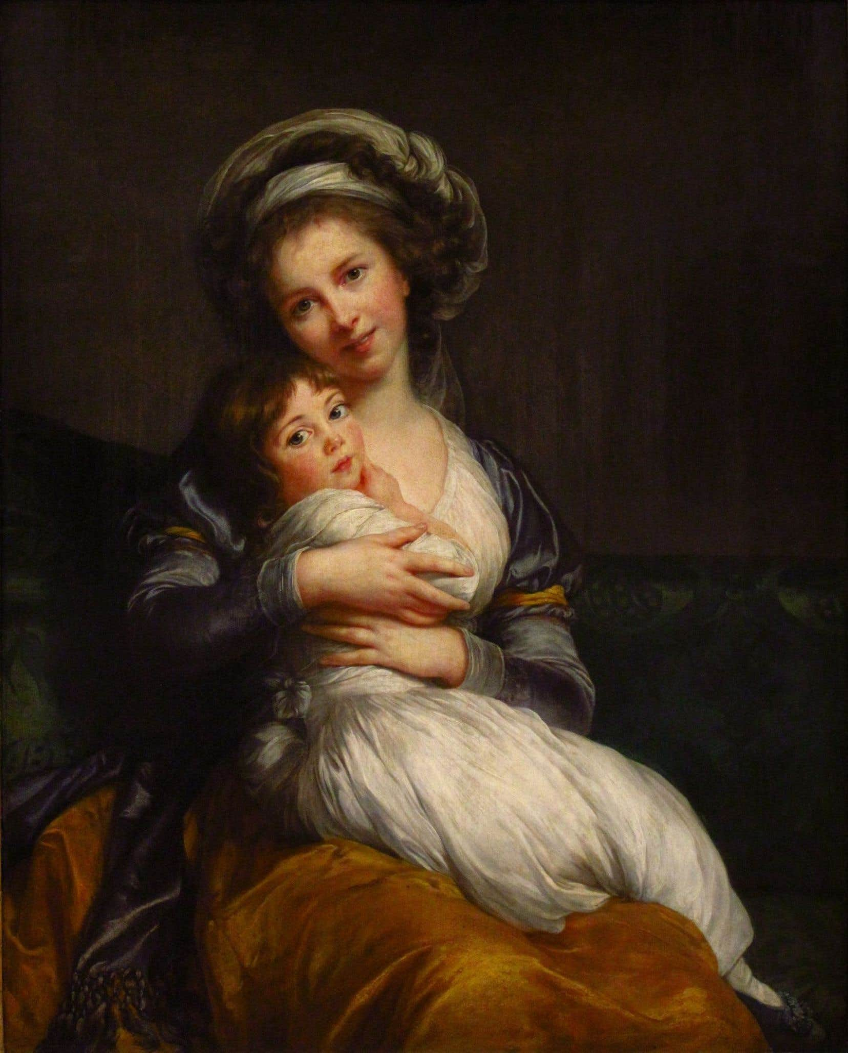 Madame Vigée Le Brun et sa fille, 1787