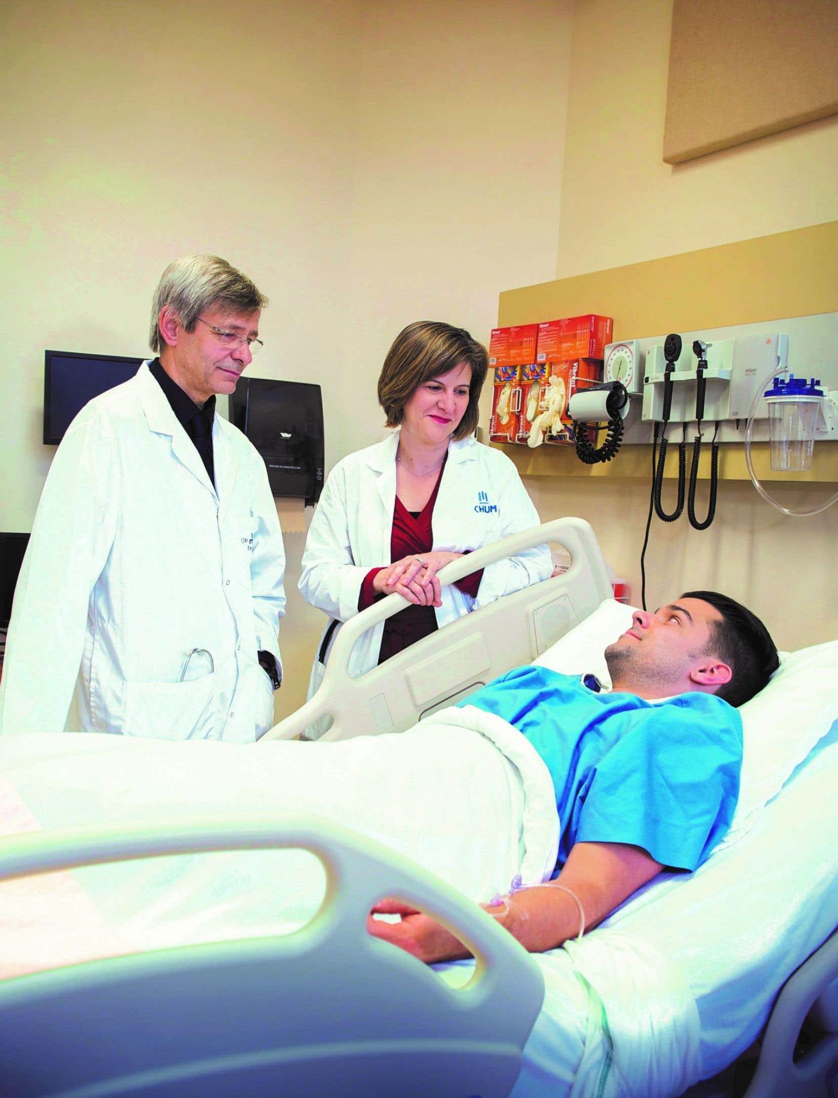 Les Drs Michel Carrier et Marie-Josée Hébert sont deux chefs de file en transplantation d'organes, autant en recherche qu'en soins cliniques.
