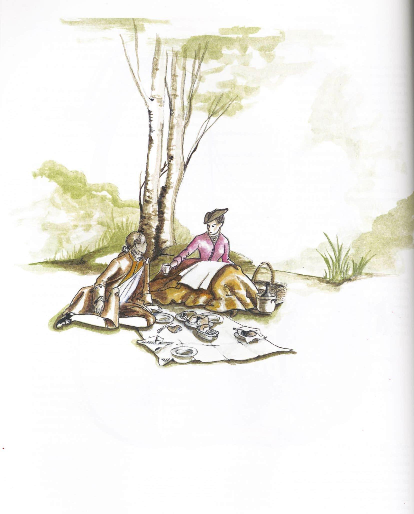 Les illustrations de Deni Blanchet colorent le livre.