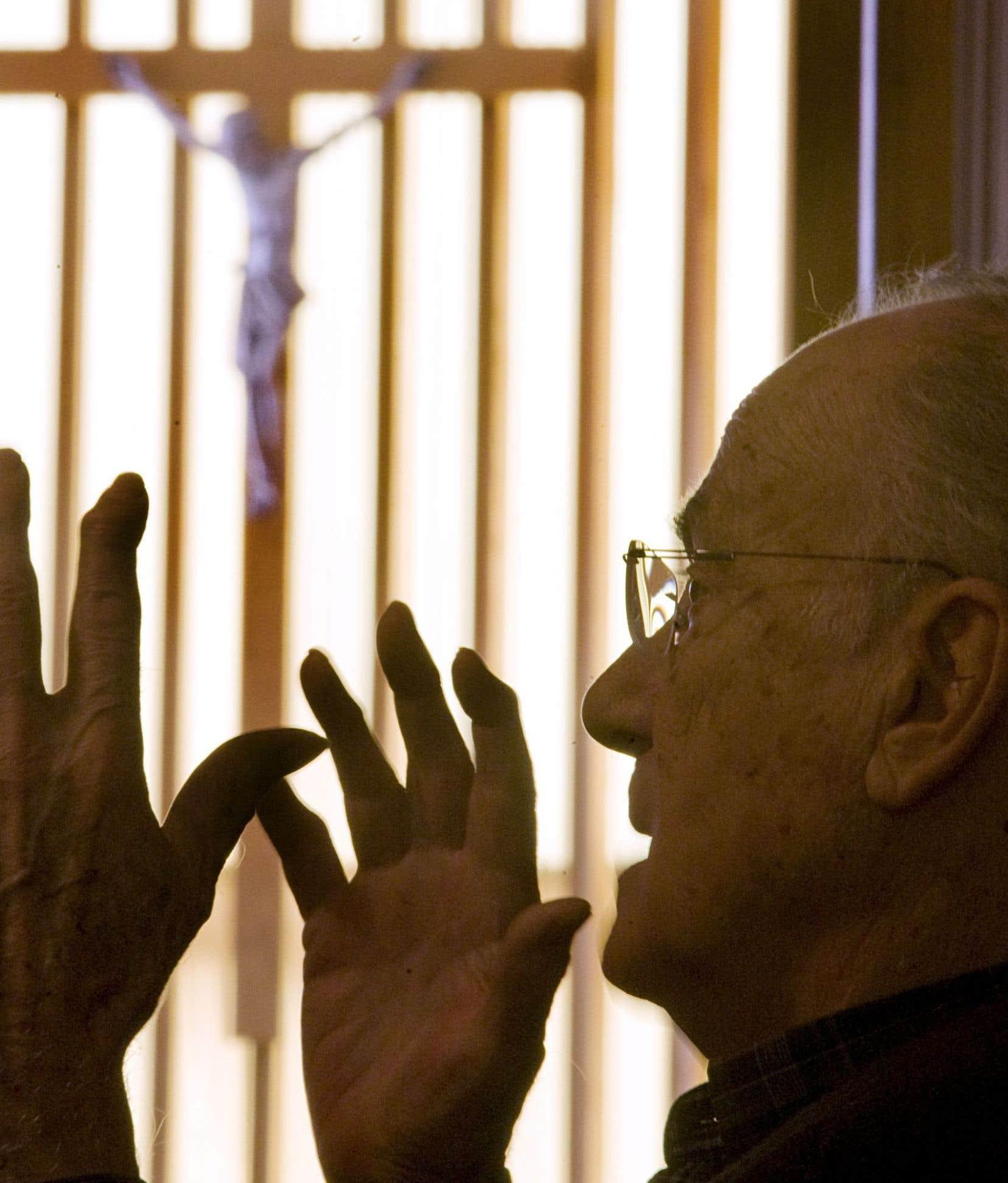 Le prêtre et sociologue Jacques Grand'Maison en 2011