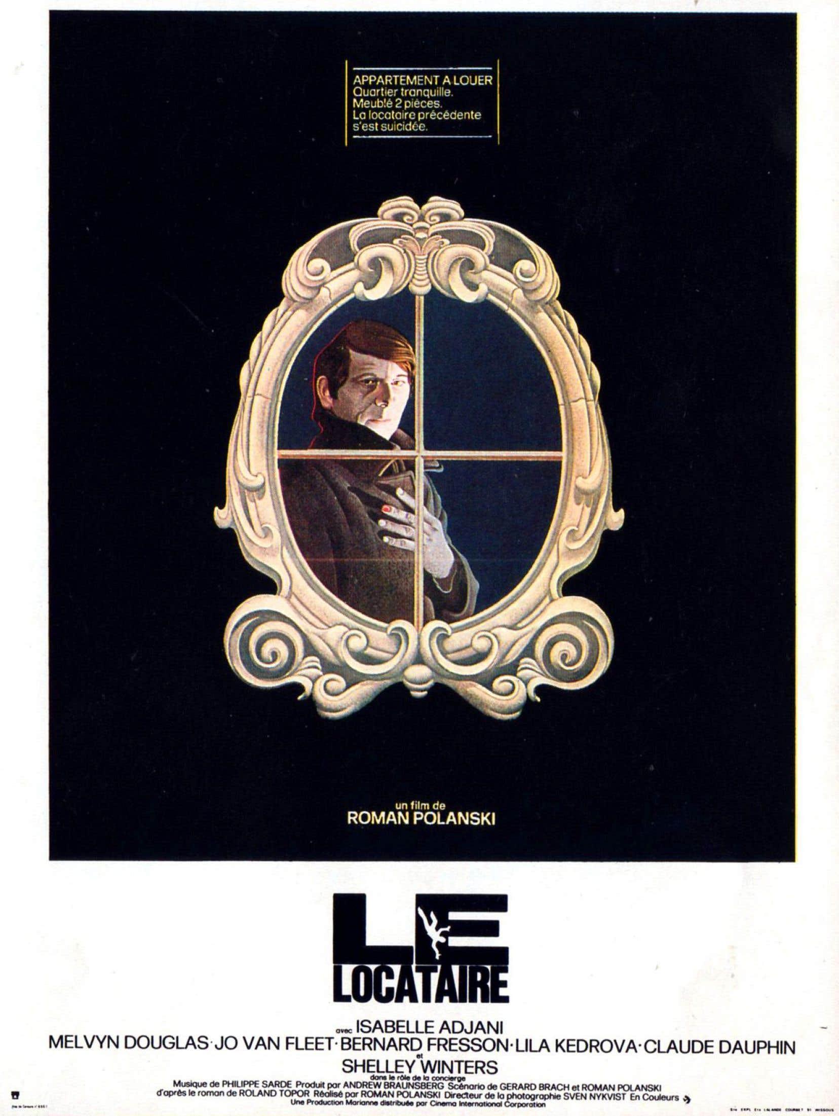 Affiche originale du film <em>Le locataire</em>