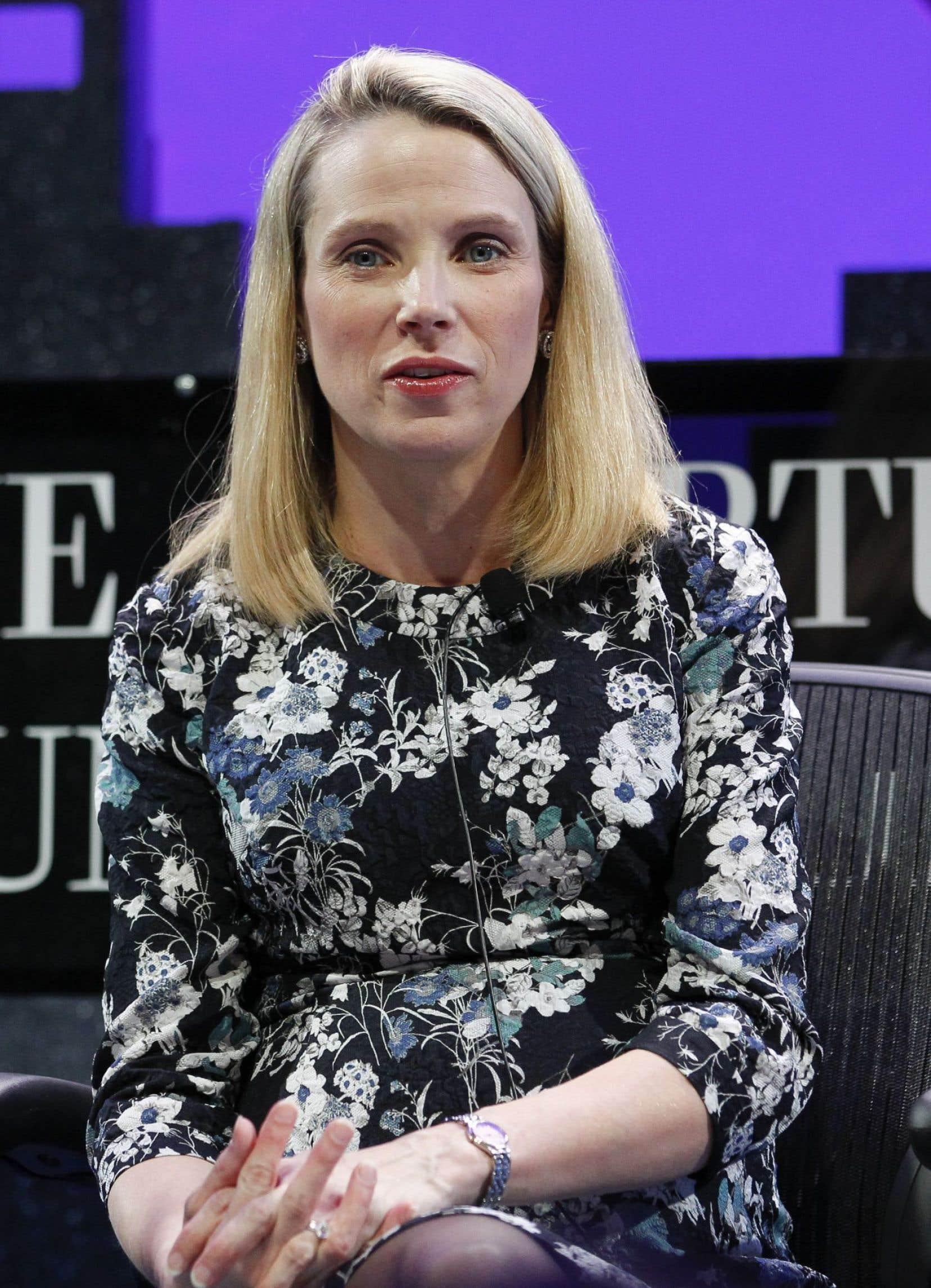 Marissa Mayer, patronne de Yahoo!