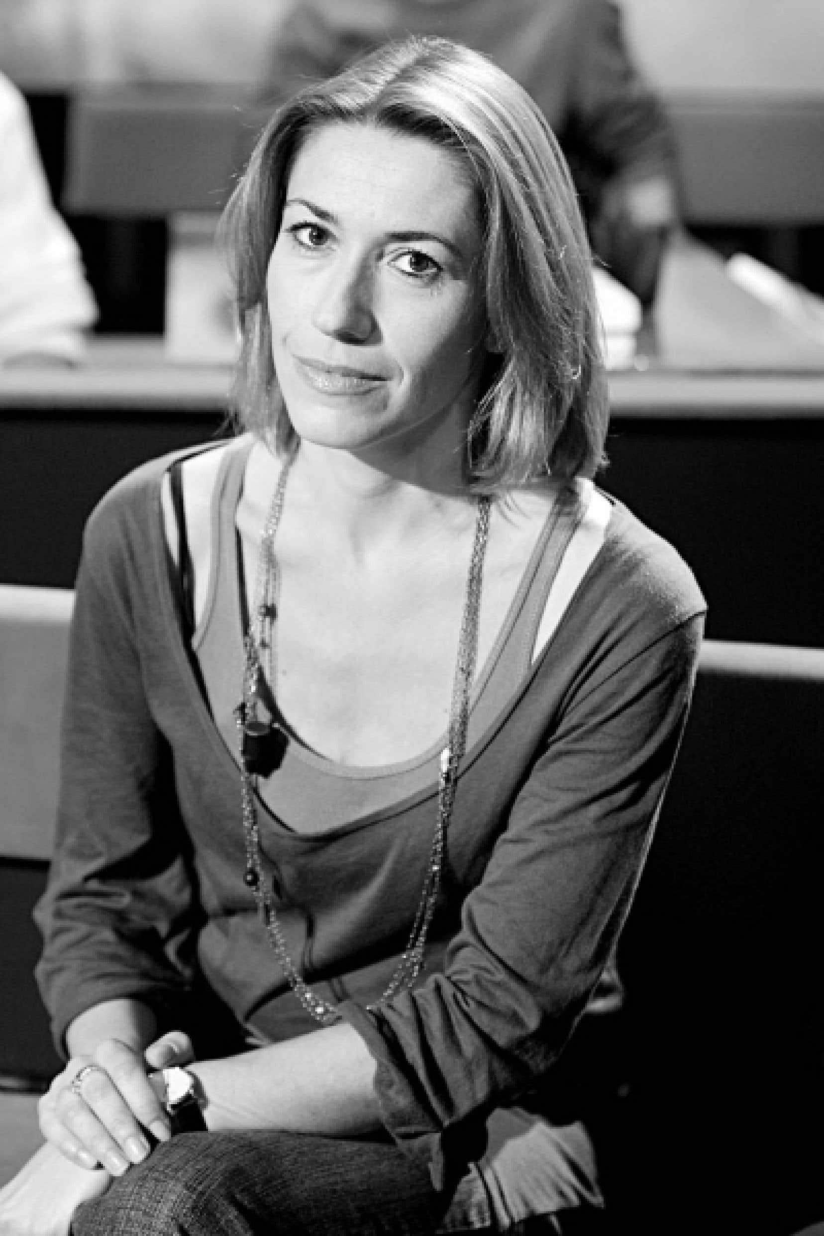 Gwenaëlle Aubry, auteure de Personne