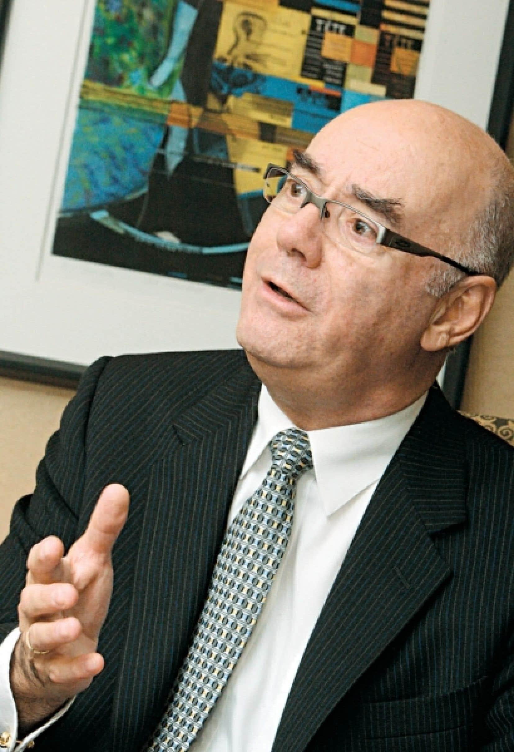 Jacques Daoust, président d'Investissement Québec