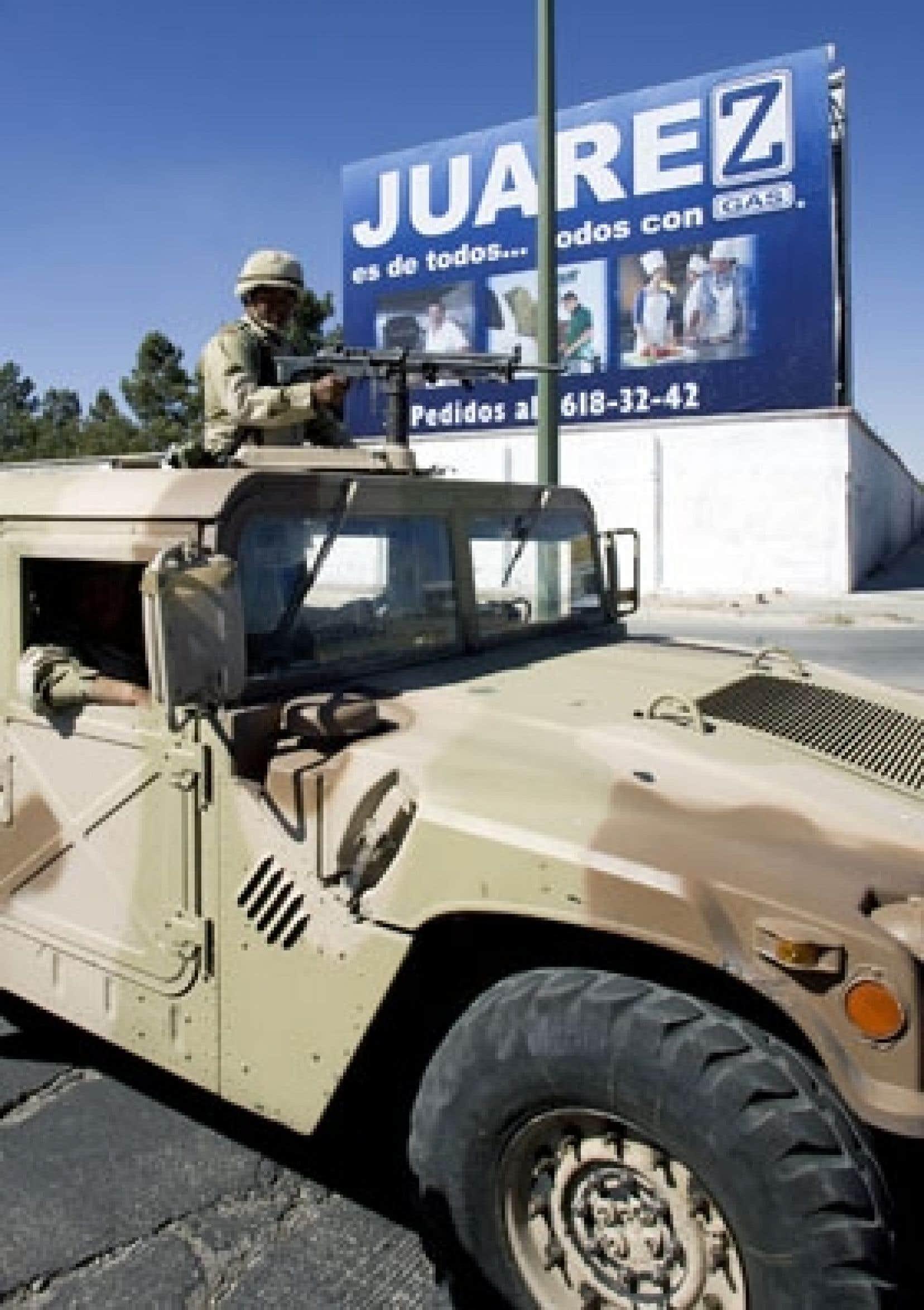 Il y a un an, le gouvernement de Mexico a envoyé l'armée rétablir l'ordre à Ciudad Juarez.